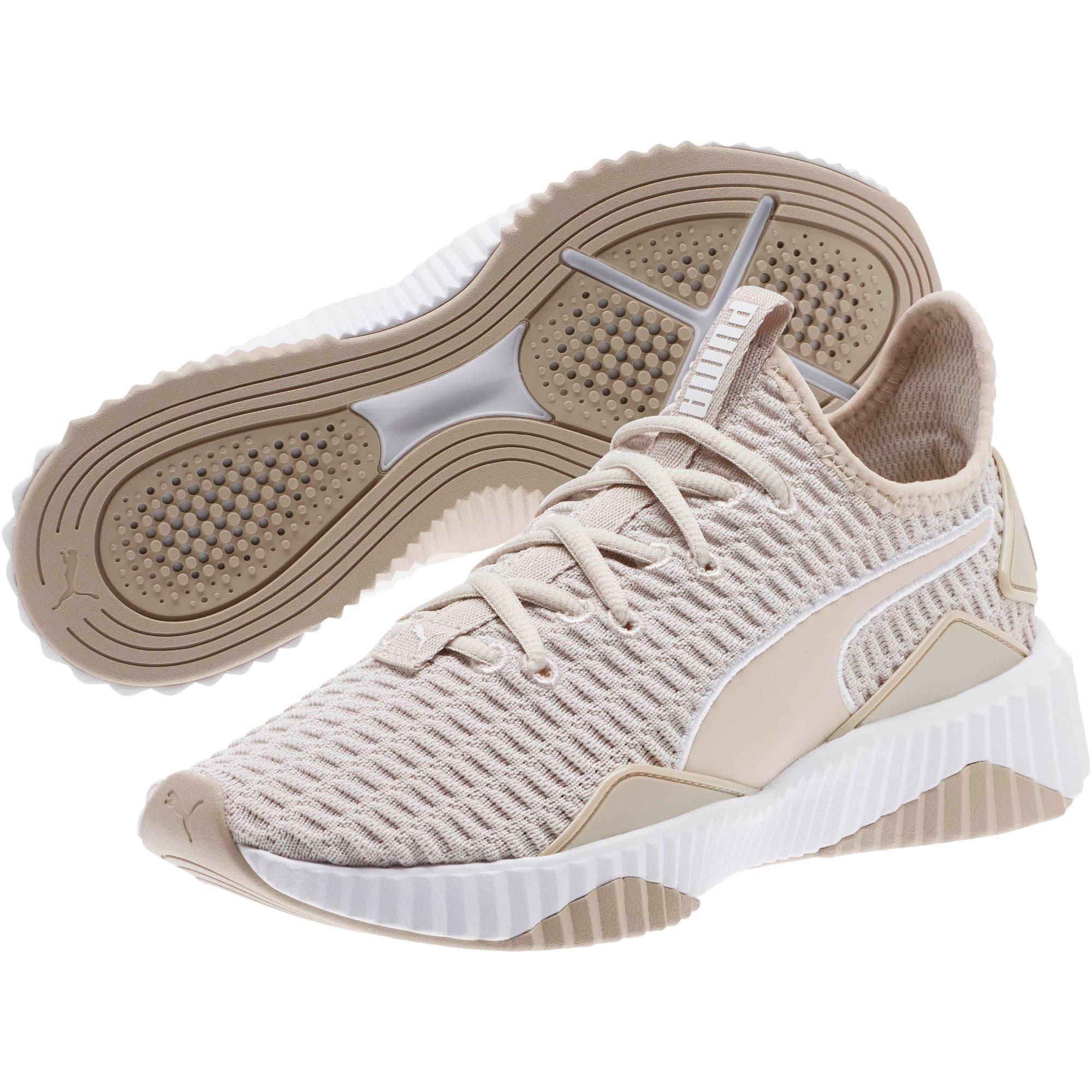 Thumbnail 2 of Defy Women's Training Shoes, Silver Gray-Puma White, medium