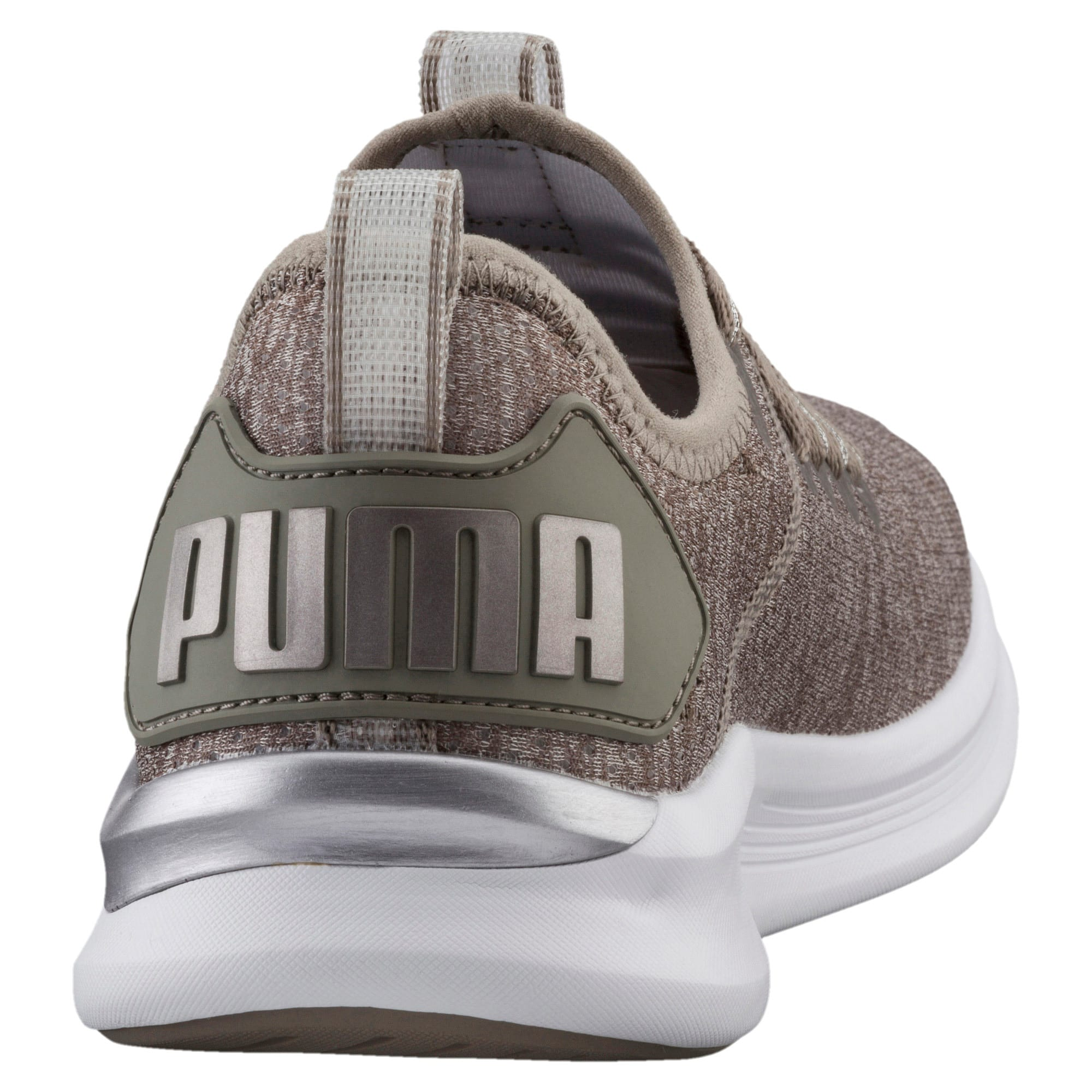Thumbnail 3 of Flash IGNITE evoKNIT En Pointe Women's Trainers, Rock Ridge-Metallic Beige, medium-IND