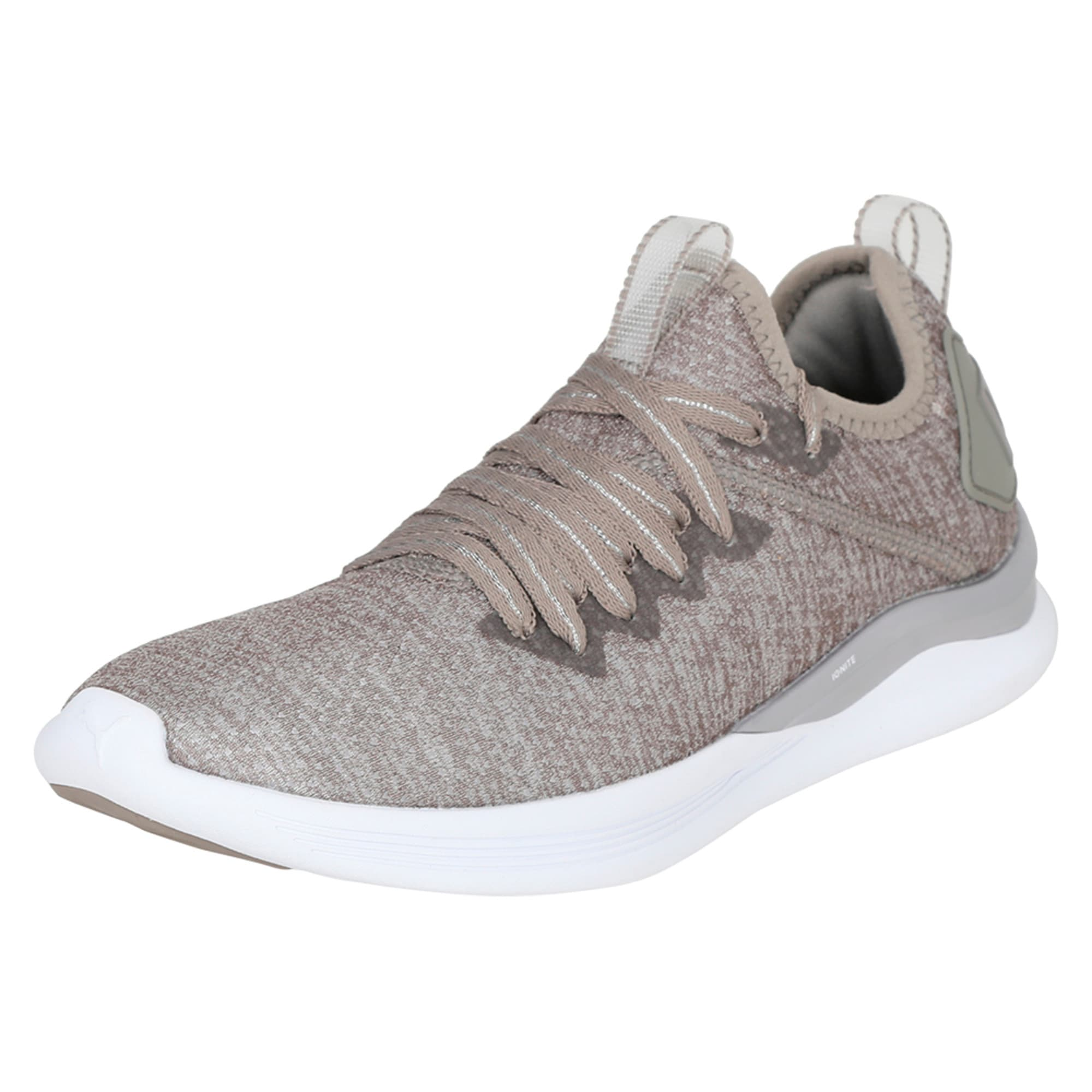 Thumbnail 1 of Flash IGNITE evoKNIT En Pointe Women's Trainers, Rock Ridge-Metallic Beige, medium-IND