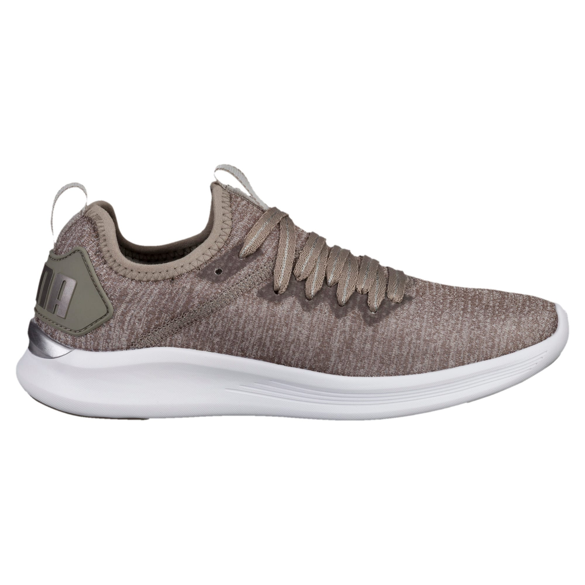 Thumbnail 4 of Flash IGNITE evoKNIT En Pointe Women's Trainers, Rock Ridge-Metallic Beige, medium-IND