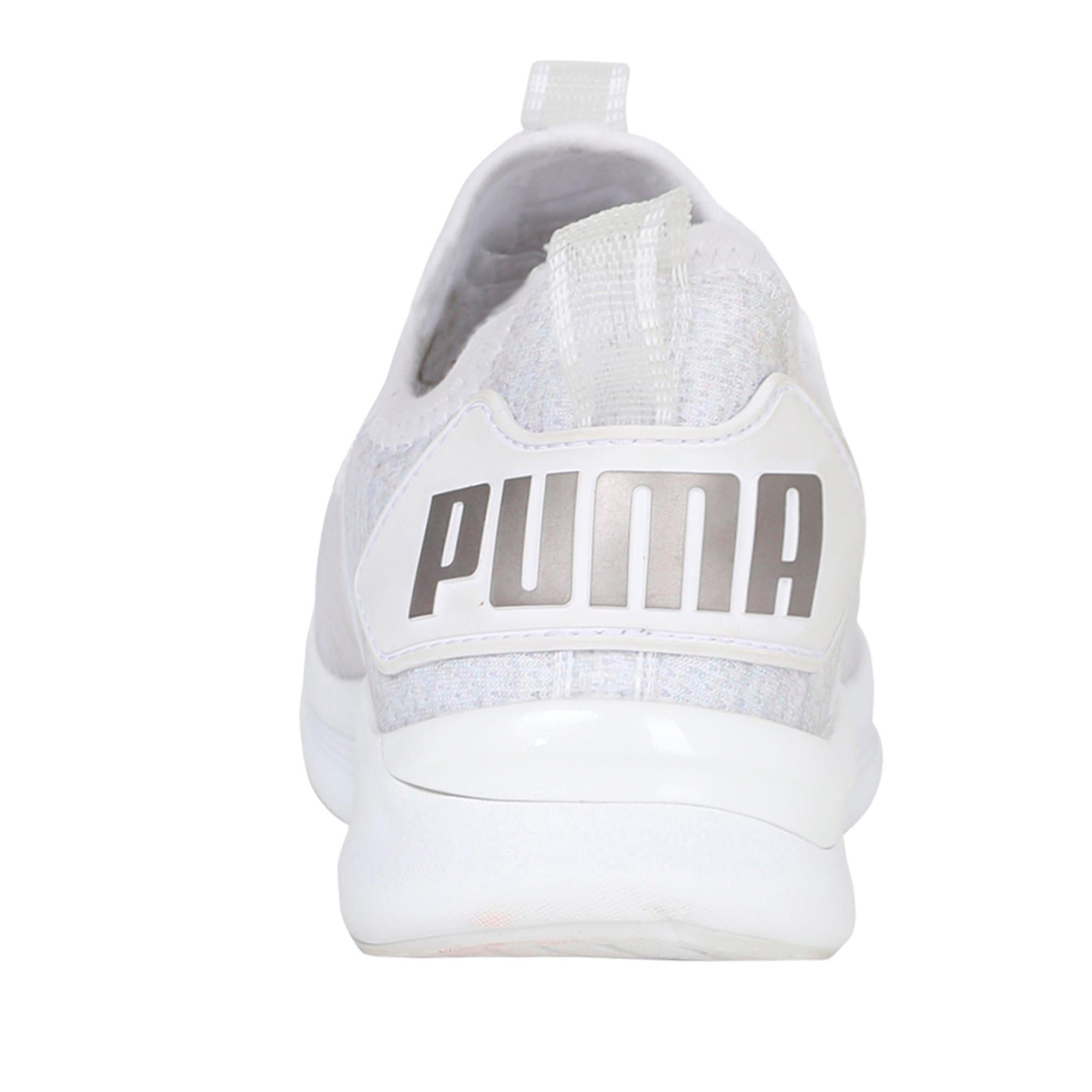 Thumbnail 3 of Flash IGNITE evoKNIT En Pointe Women's Trainers, Puma White-Gray Violet, medium-IND