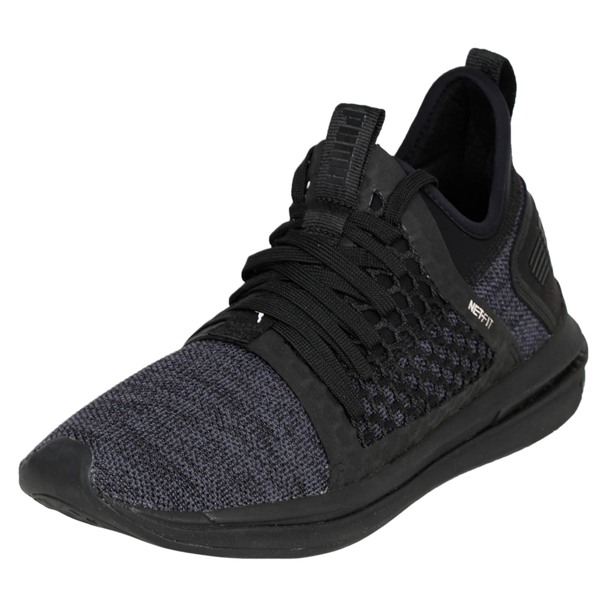 Thumbnail 1 of IGNITE Limitless SR NETFIT Men's Trainer Shoes, Puma Black, medium-IND