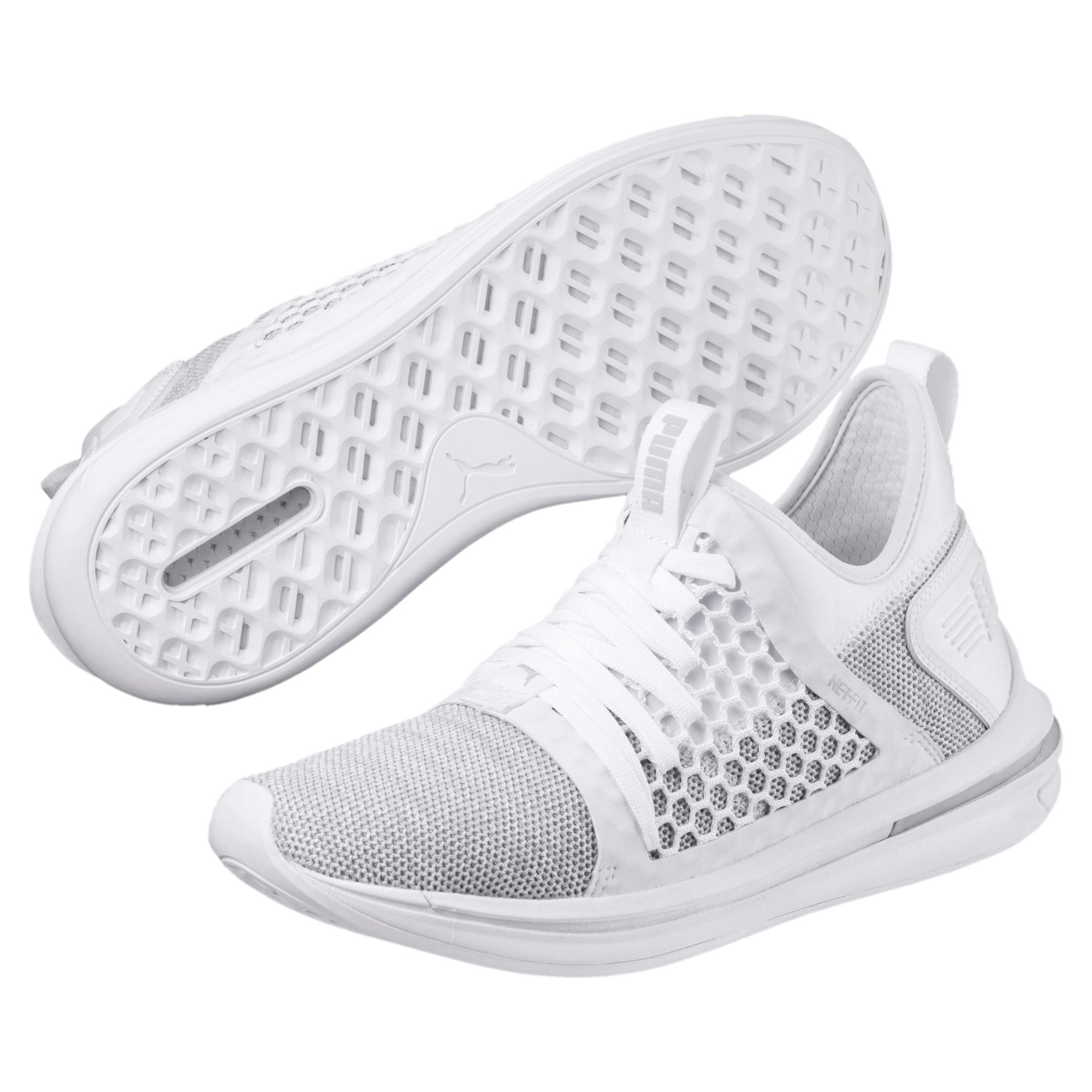 Thumbnail 2 of IGNITE Limitless SR NETFIT Men's Trainer Shoes, Puma White-Puma White, medium-IND
