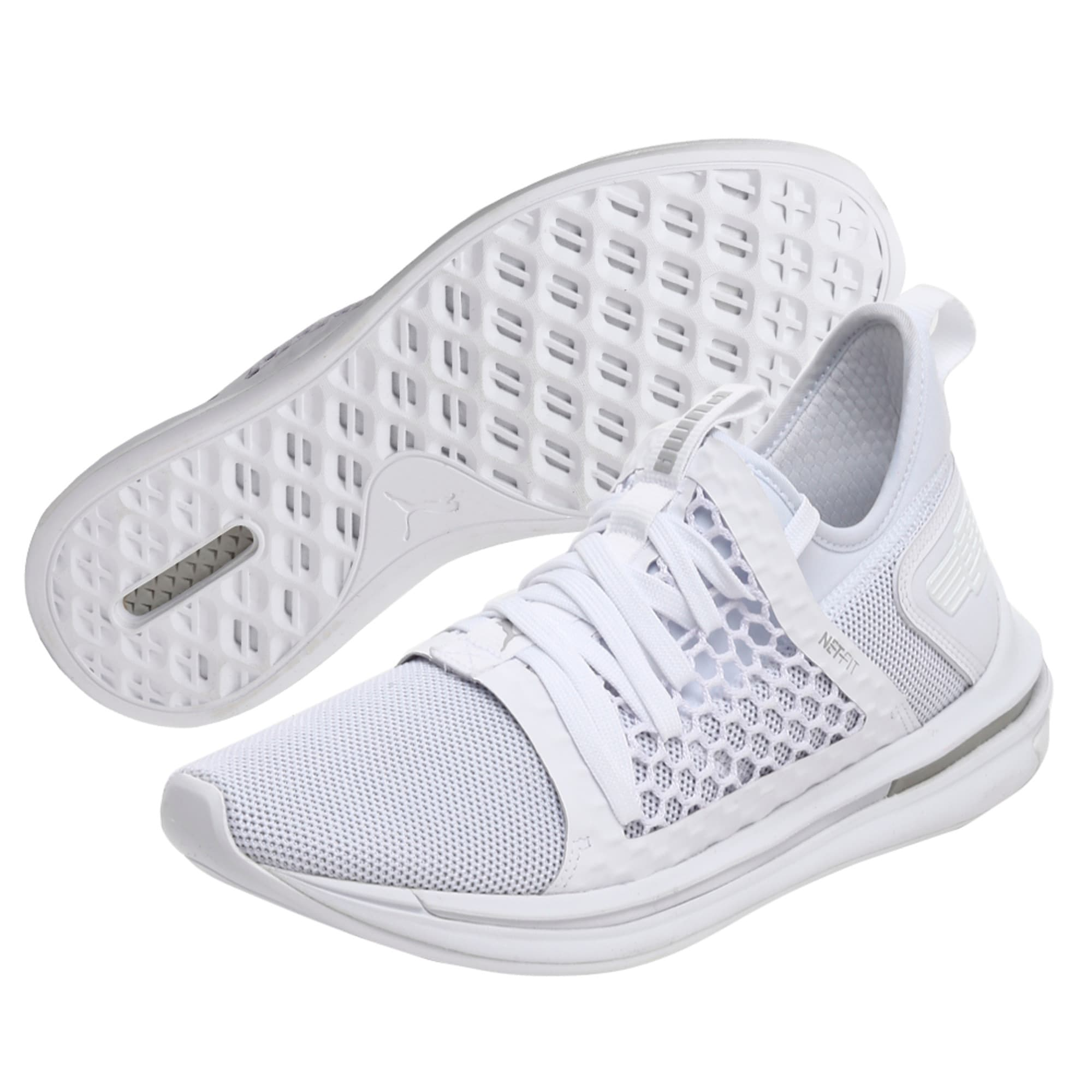 Thumbnail 1 of IGNITE Limitless SR NETFIT Men's Trainer Shoes, Puma White-Puma White, medium-IND