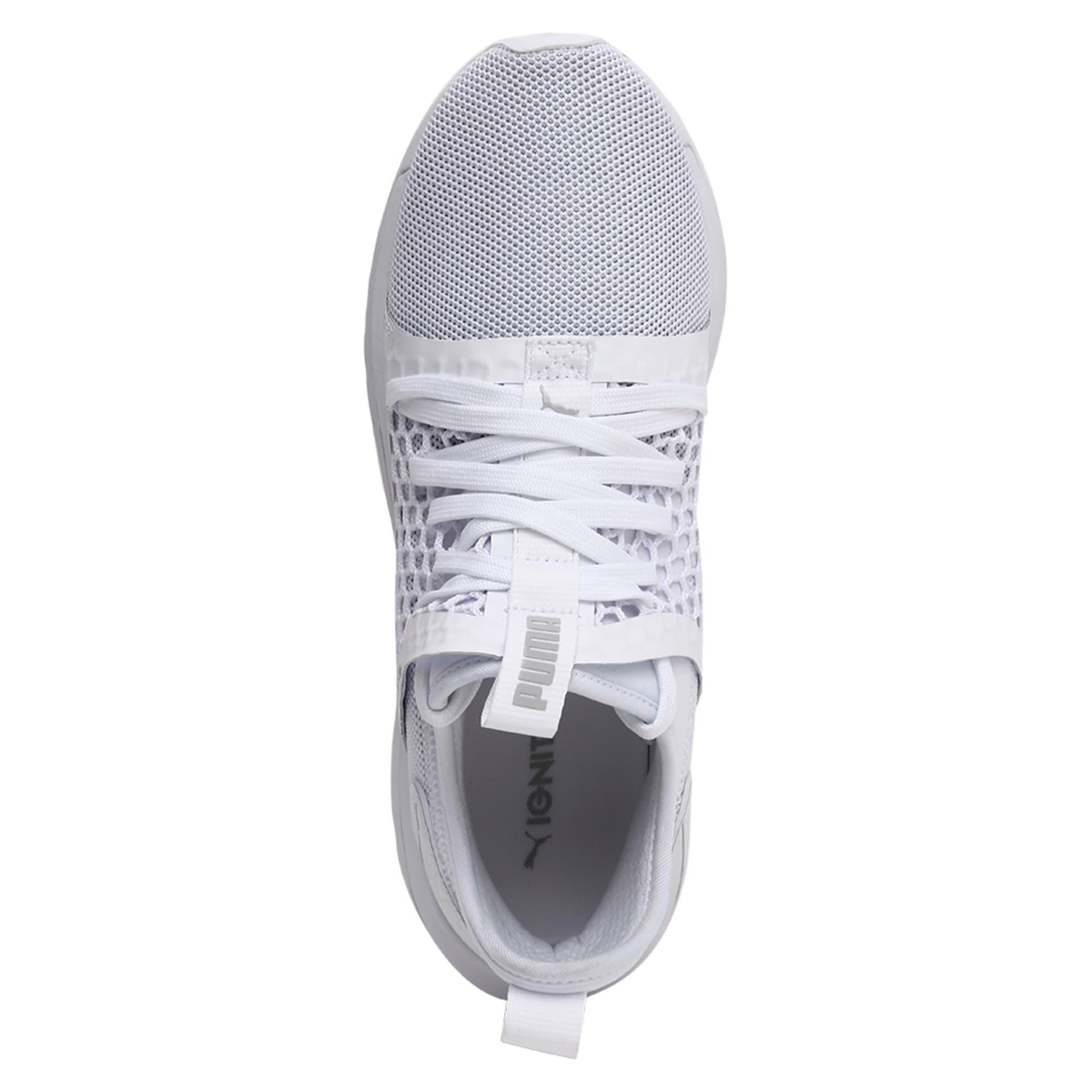 Thumbnail 4 of IGNITE Limitless SR NETFIT Men's Trainer Shoes, Puma White-Puma White, medium-IND