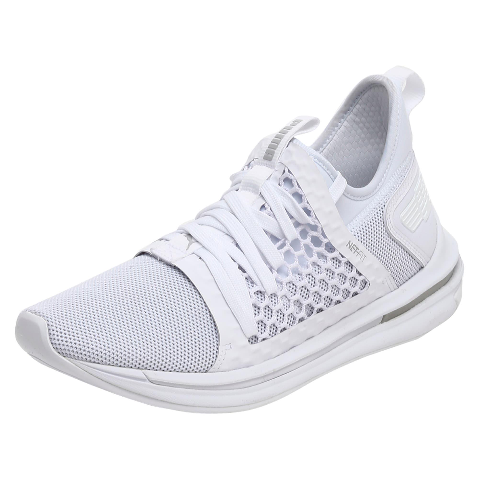 Thumbnail 5 of IGNITE Limitless SR NETFIT Men's Trainer Shoes, Puma White-Puma White, medium-IND