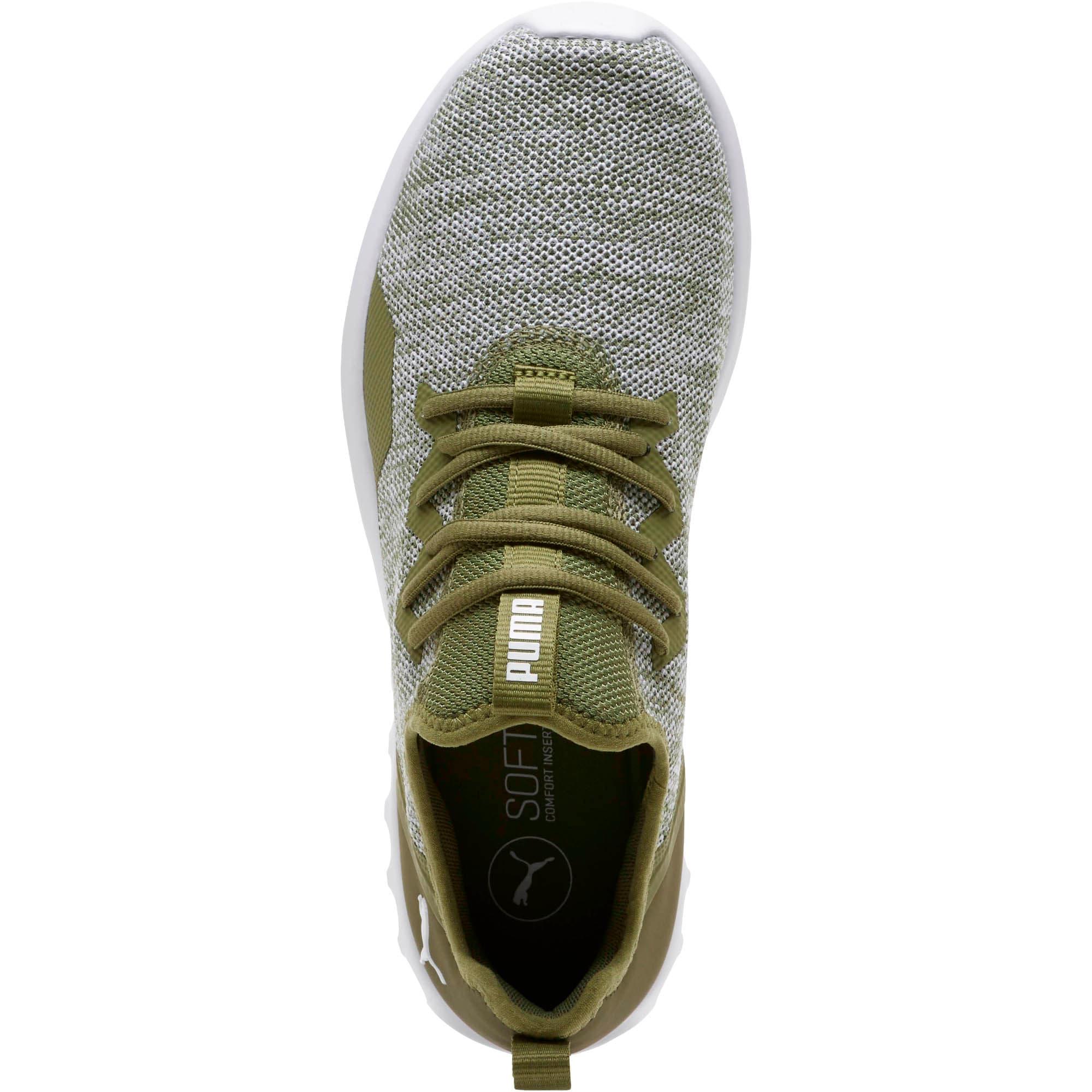 Thumbnail 5 of Carson 2 X Knit Men's Running Shoes, Olivine-Puma White, medium