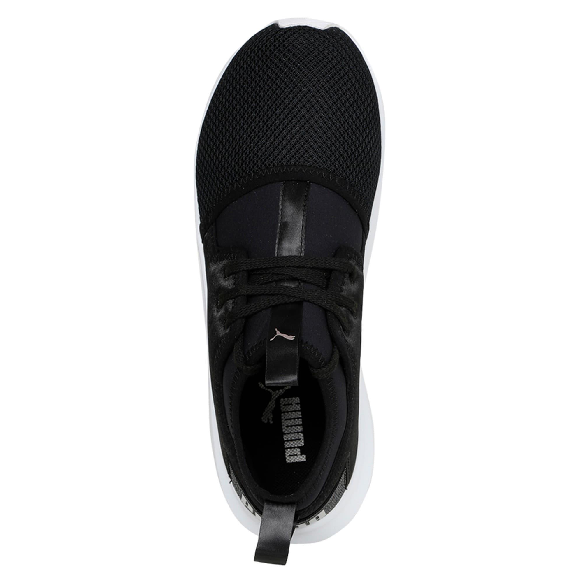 Thumbnail 3 of Phenom Satin Lo En Pointe Women's Training Shoes, Puma Black-Puma White, medium-IND