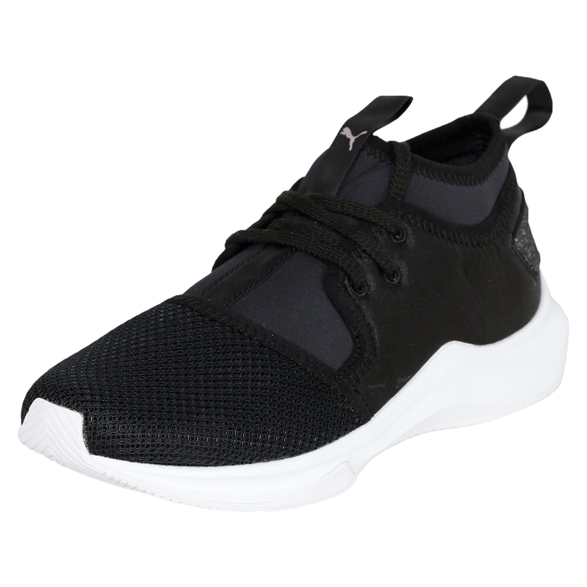 Thumbnail 1 of Phenom Satin Lo En Pointe Women's Training Shoes, Puma Black-Puma White, medium-IND