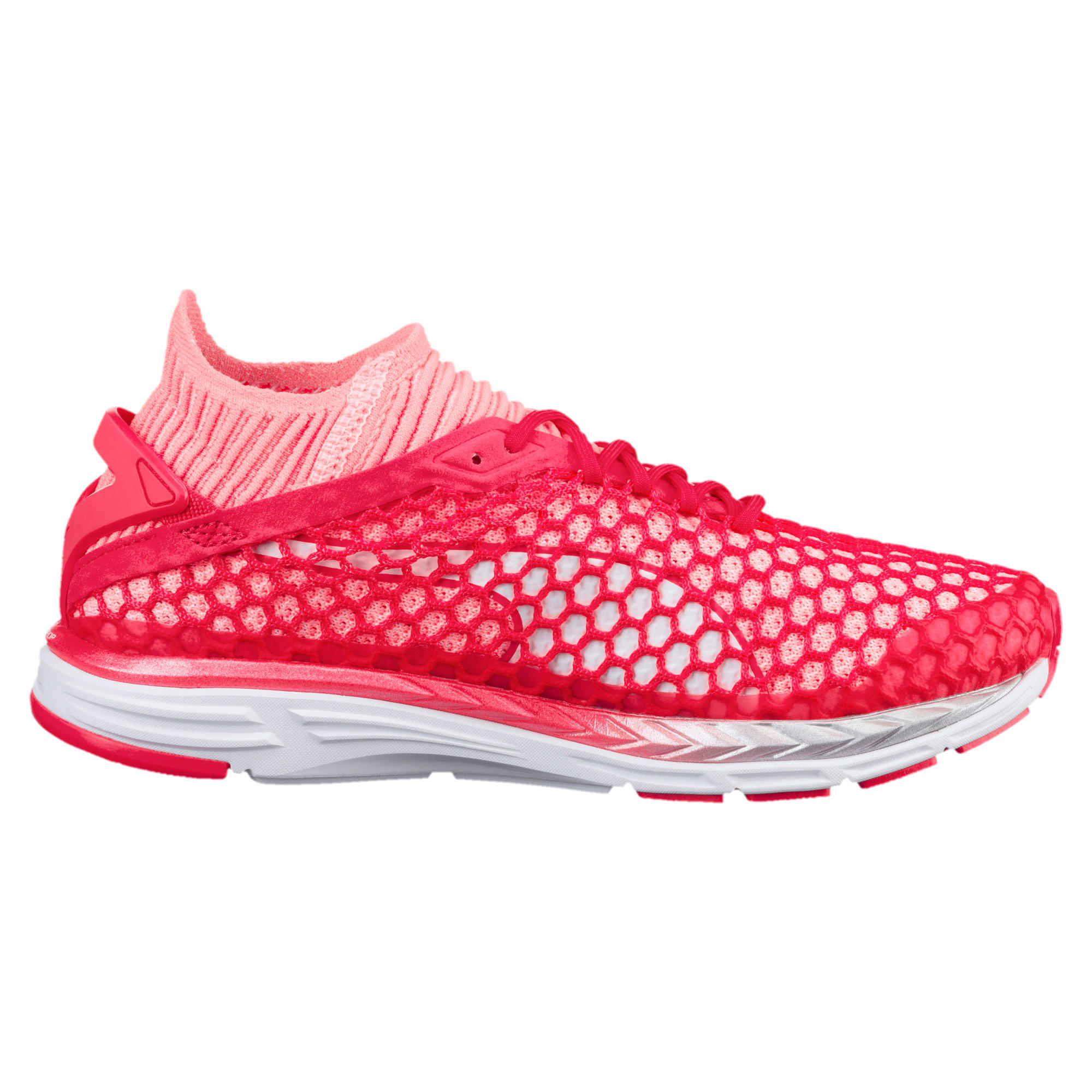 Thumbnail 5 of Speed IGNITE NETFIT 2 Women's Running Shoes, Pink-Fluo Peach-White, medium-IND