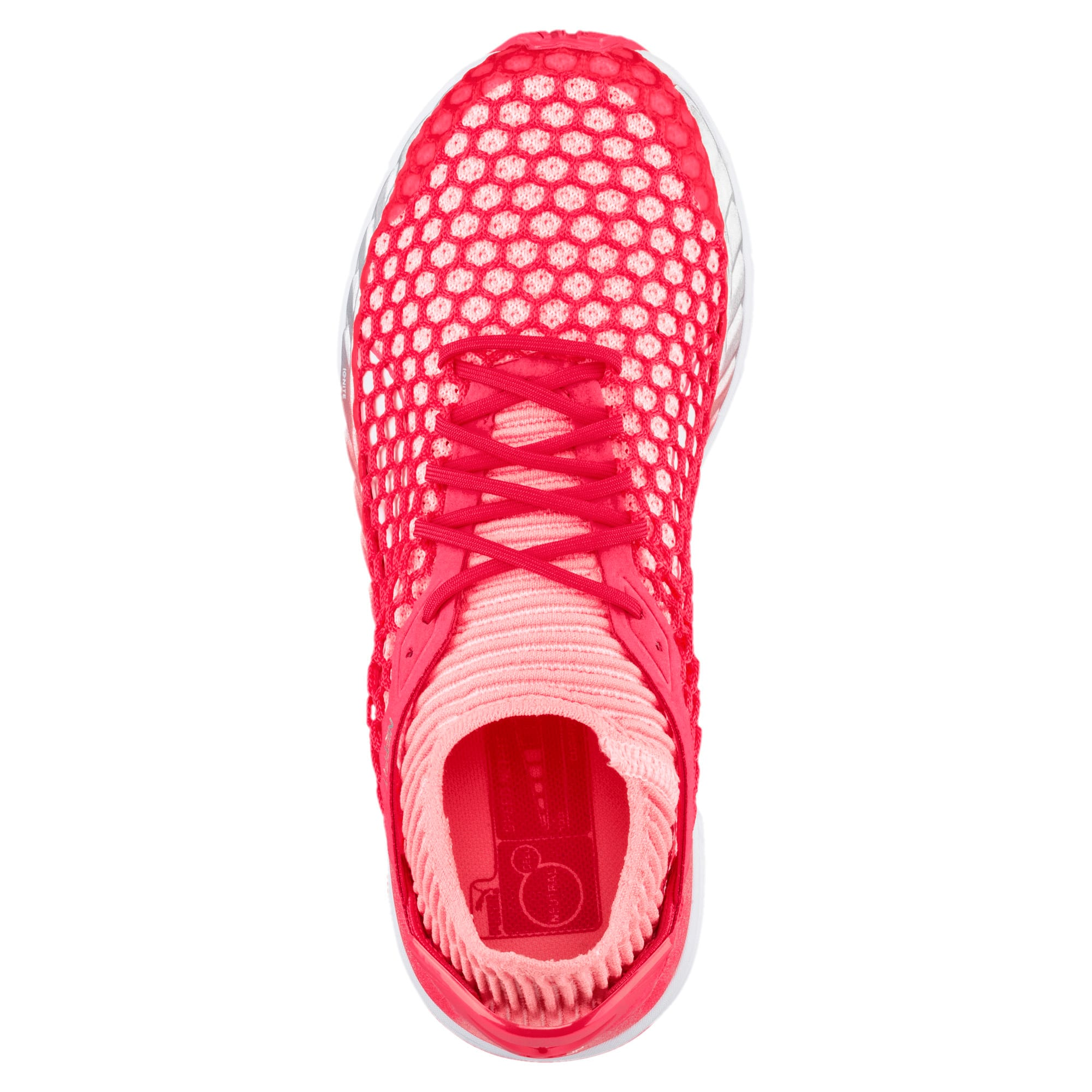 Thumbnail 3 of Speed IGNITE NETFIT 2 Women's Running Shoes, Pink-Fluo Peach-White, medium-IND