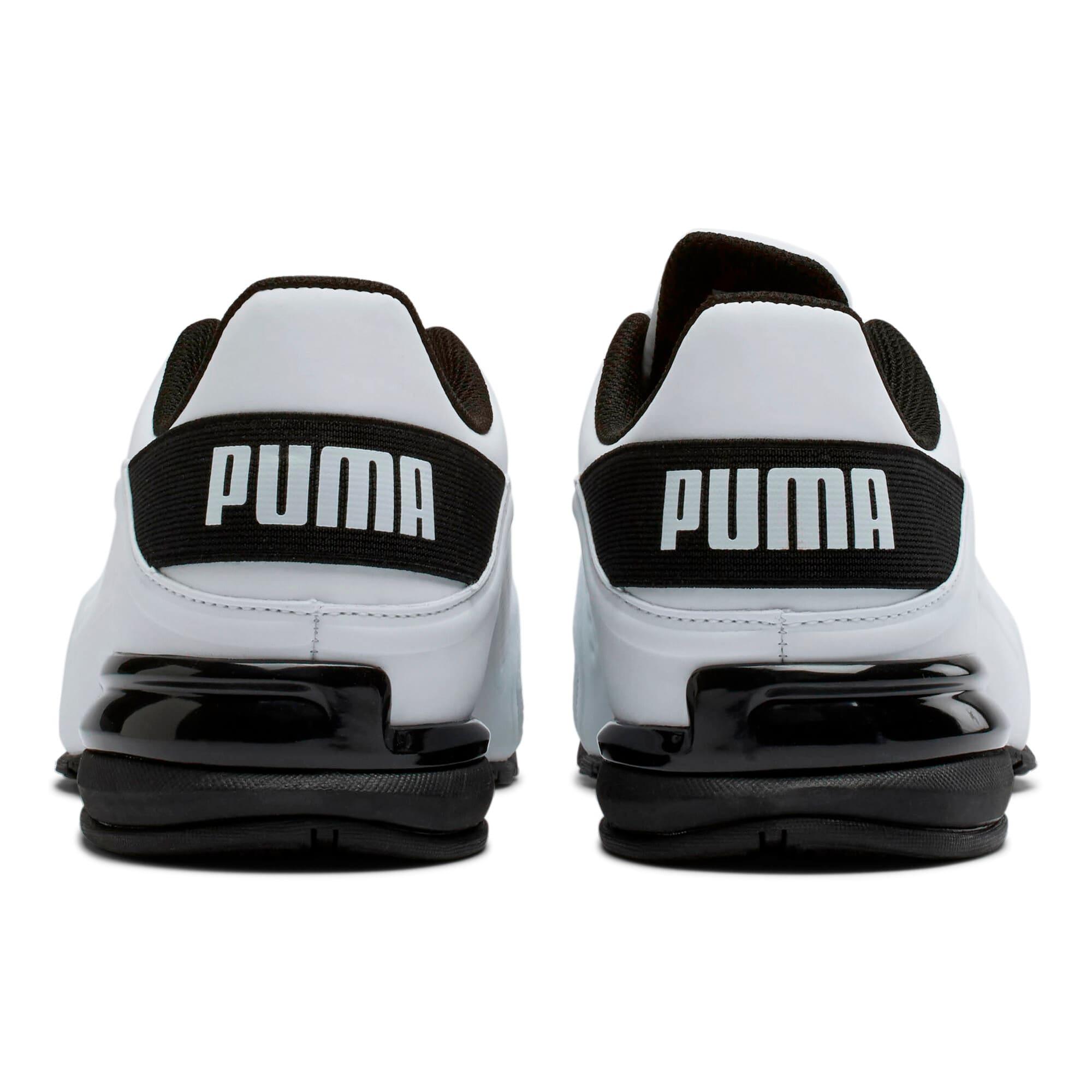 Thumbnail 3 of Viz Runner Men's Running Shoes, Puma White-Puma Black, medium