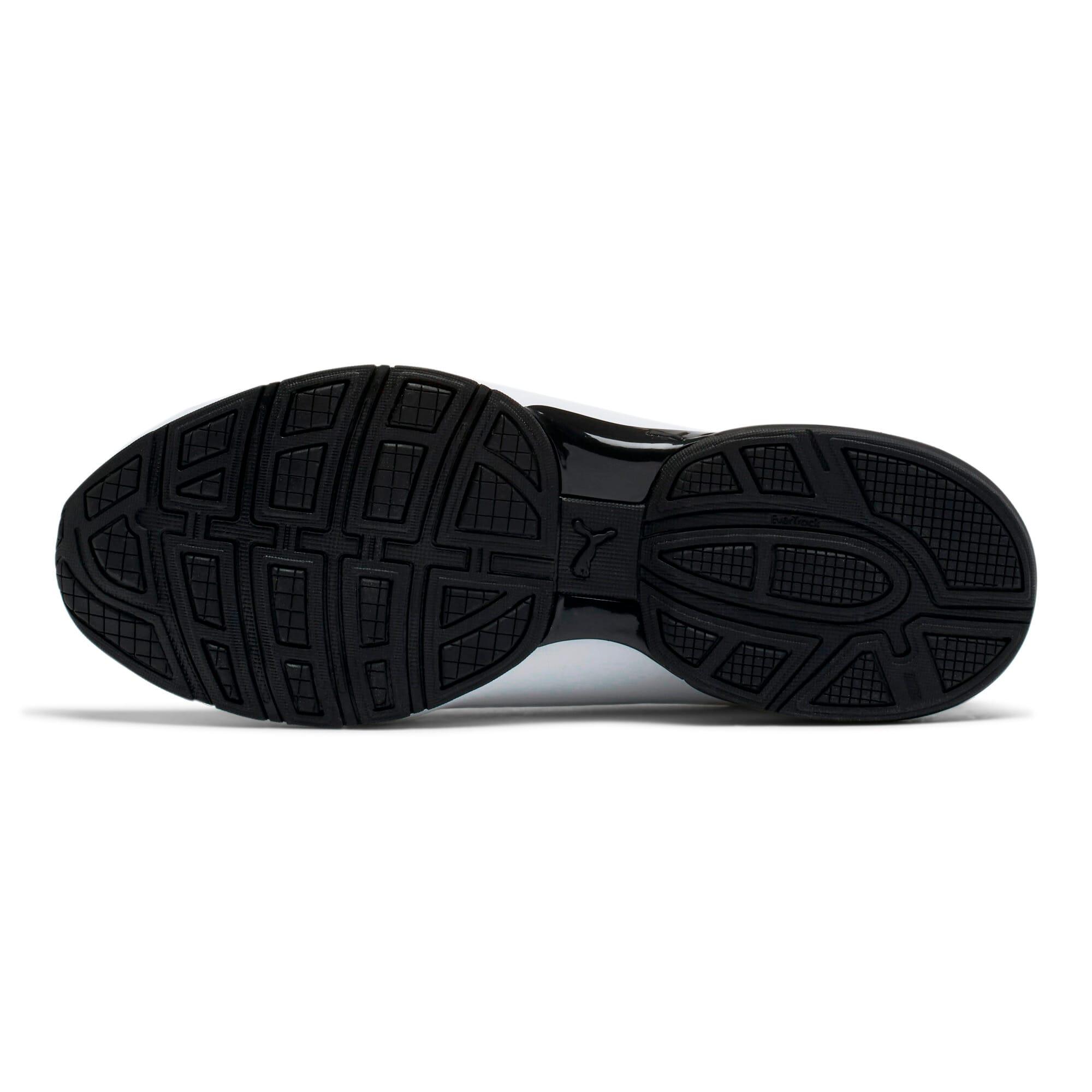 Thumbnail 4 of Viz Runner Men's Running Shoes, Puma White-Puma Black, medium