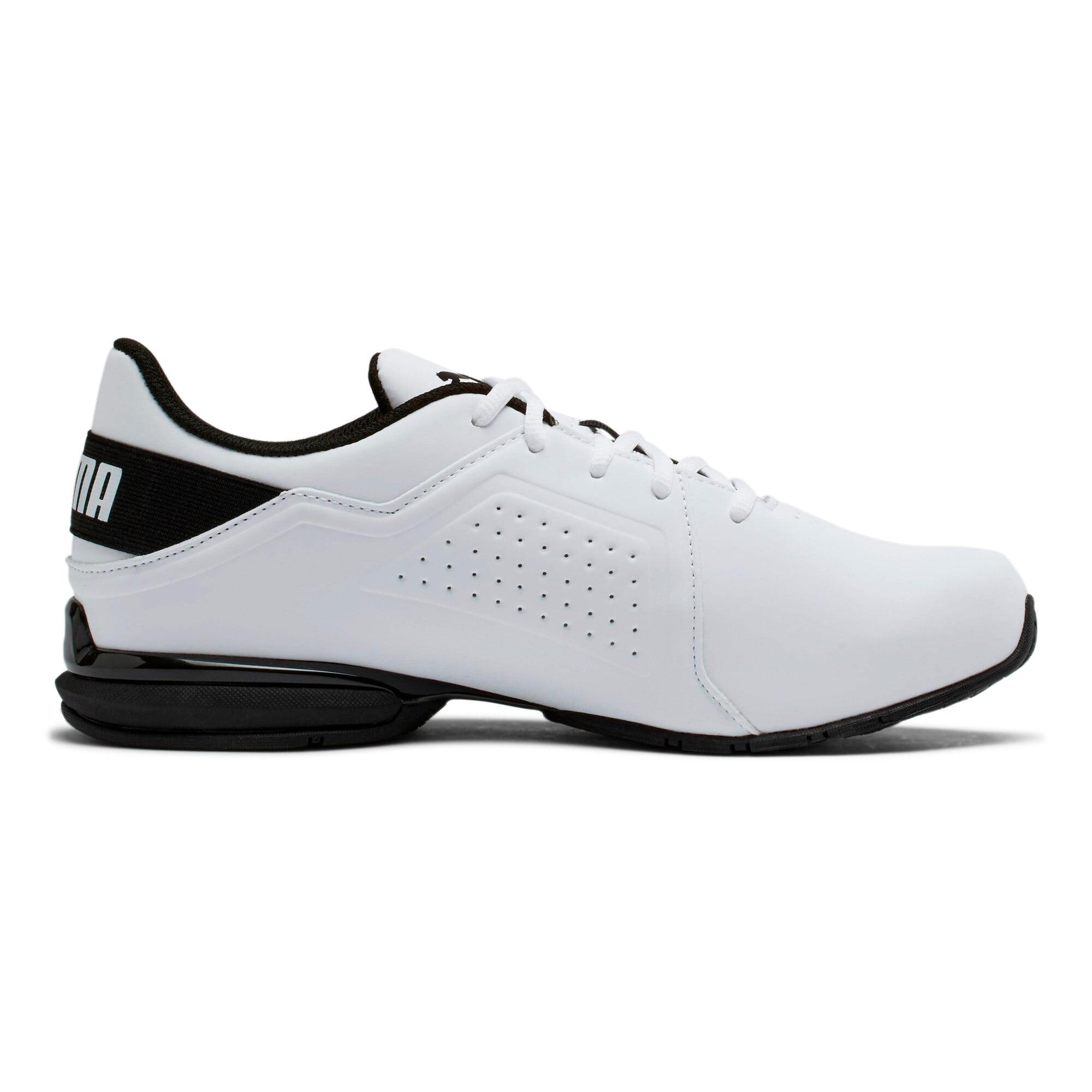Thumbnail 5 of Viz Runner Men's Running Shoes, Puma White-Puma Black, medium