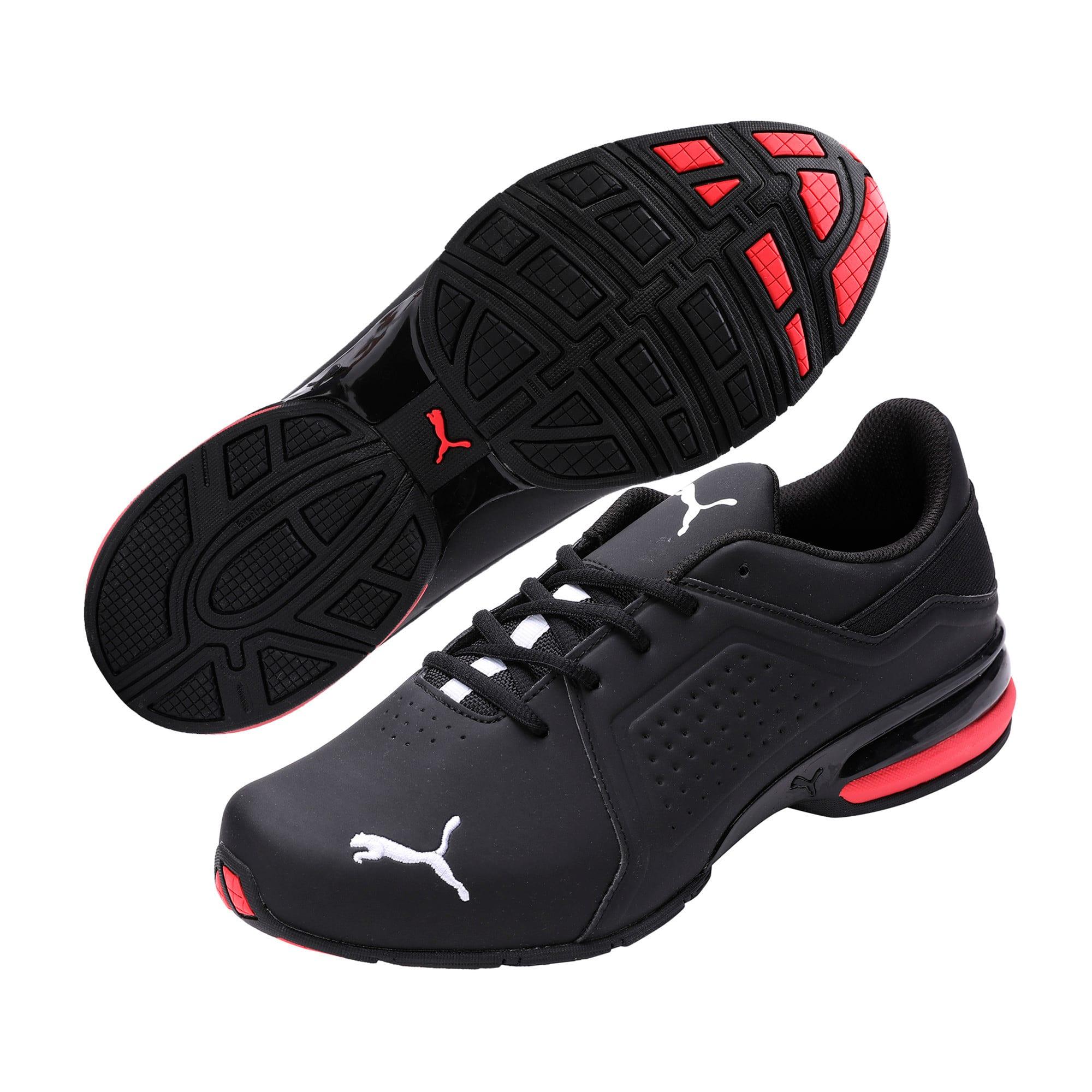 Thumbnail 3 of Viz Runner Puma White-Puma Black, Puma Black-Puma White, medium-IND