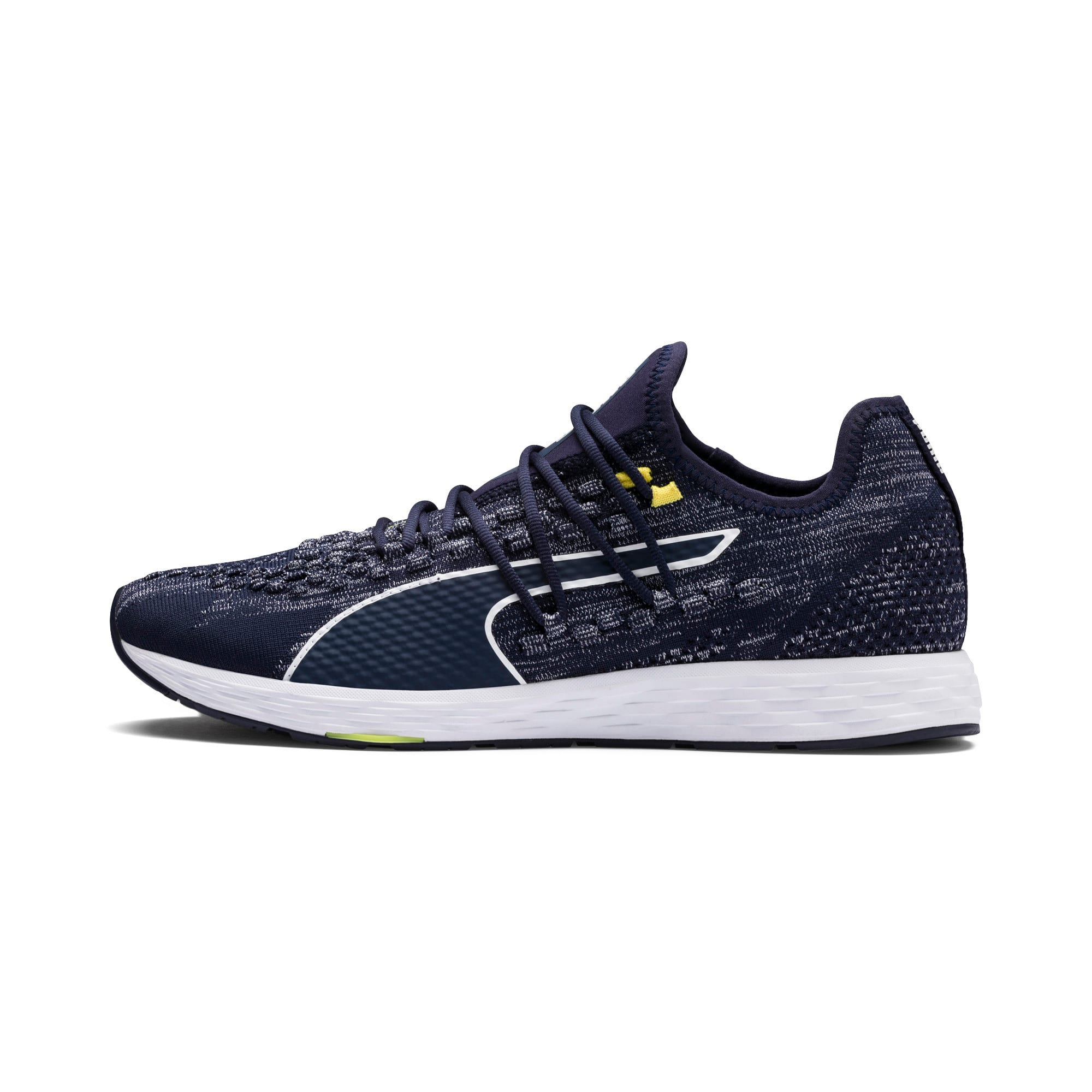 Thumbnail 1 of SPEED RACER Men's Running Shoes, Peacoat-White-Blazing Yellow, medium-IND