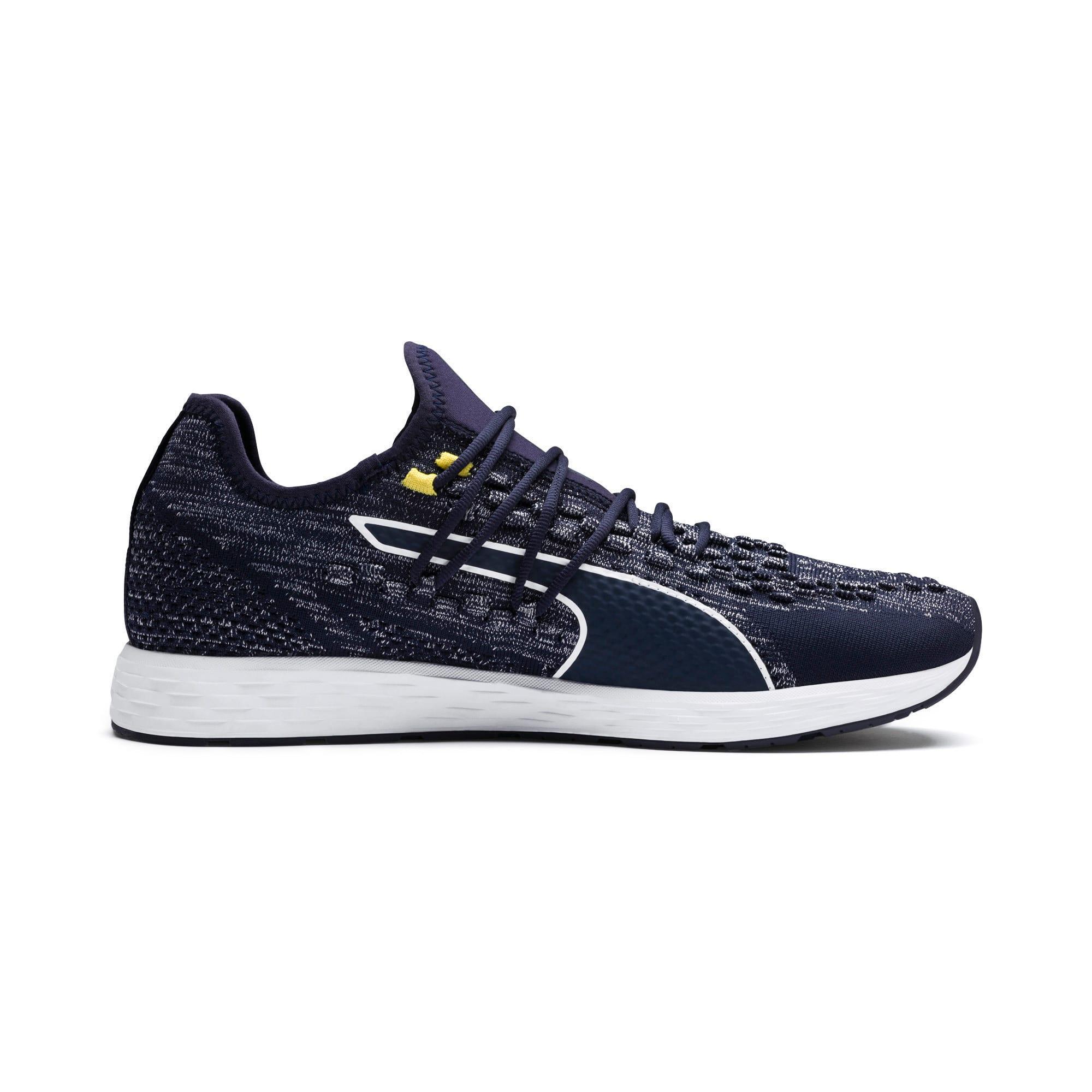 Thumbnail 5 of SPEED RACER Men's Running Shoes, Peacoat-White-Blazing Yellow, medium-IND