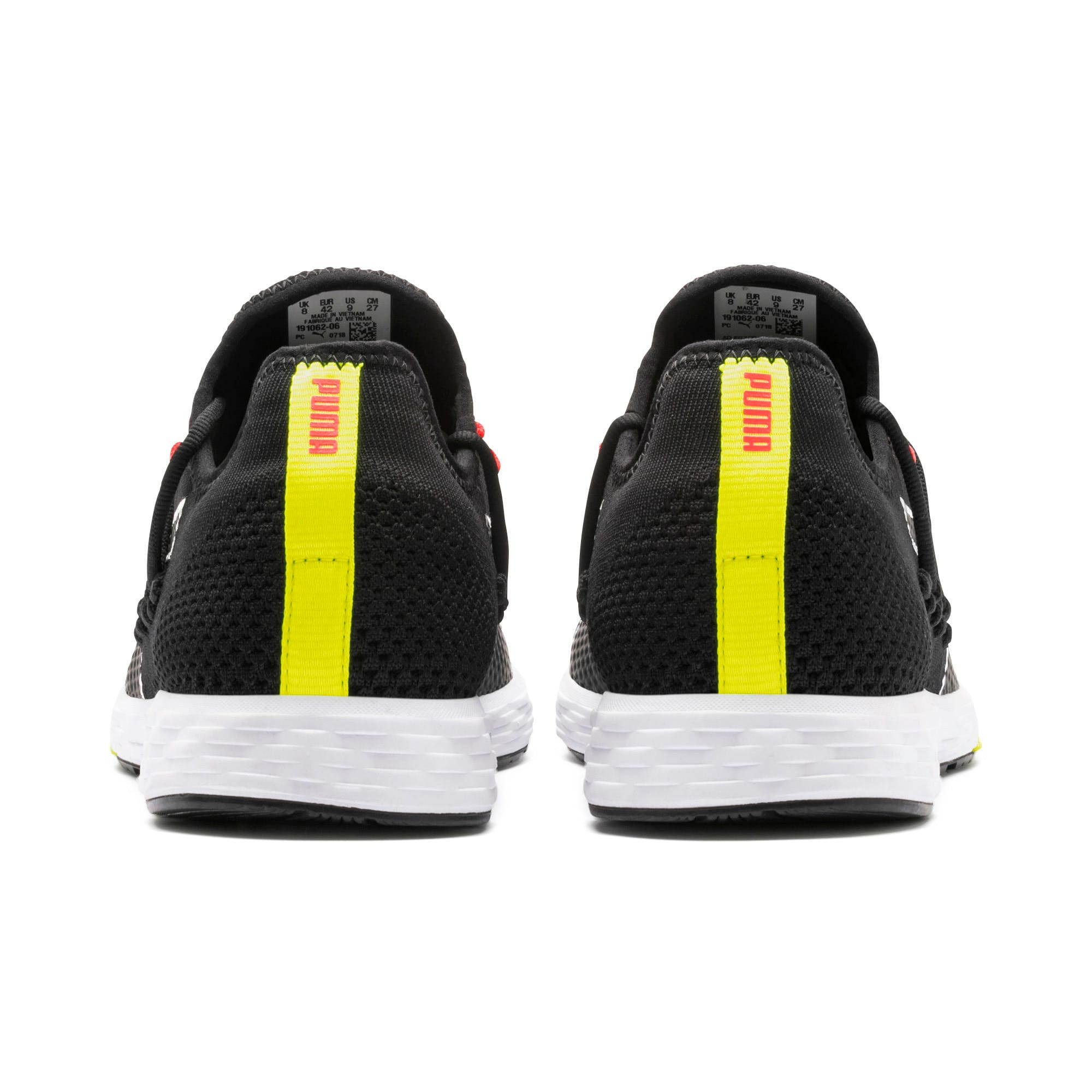 Thumbnail 4 of SPEED RACER Men's Running Shoes, Black-Nrgy Red-Yellow Alert, medium