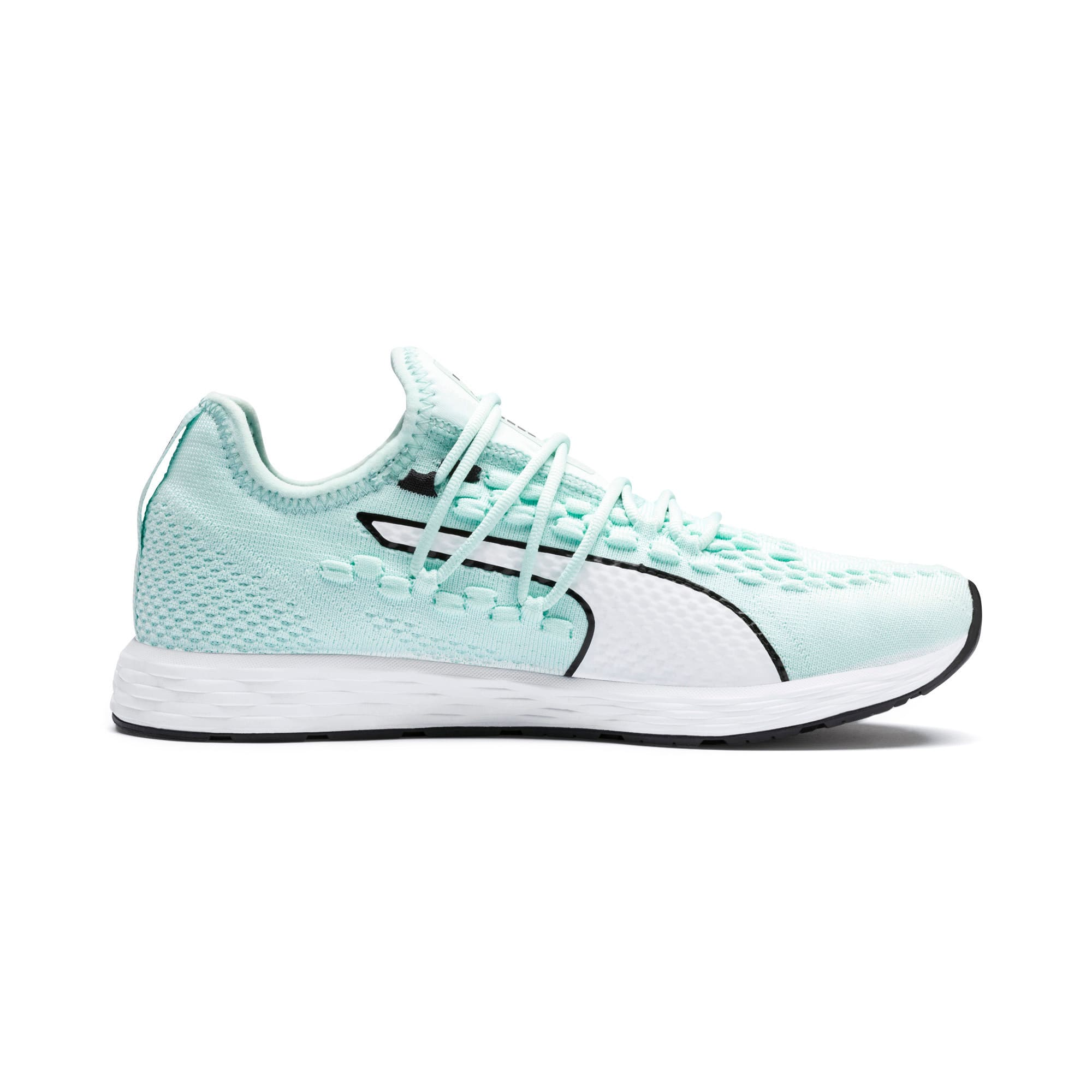 Thumbnail 5 of SPEED 300 RACER Women's Running Shoes, Fair Aqua-White-Black, medium