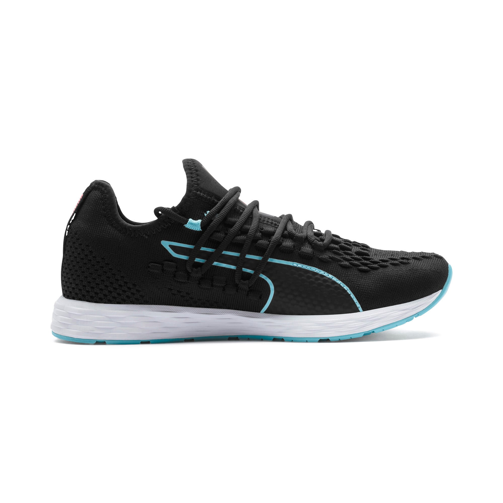 Thumbnail 6 of SPEED RACER Women's Running Shoes, Black-Milky Blue-Pink Alert, medium