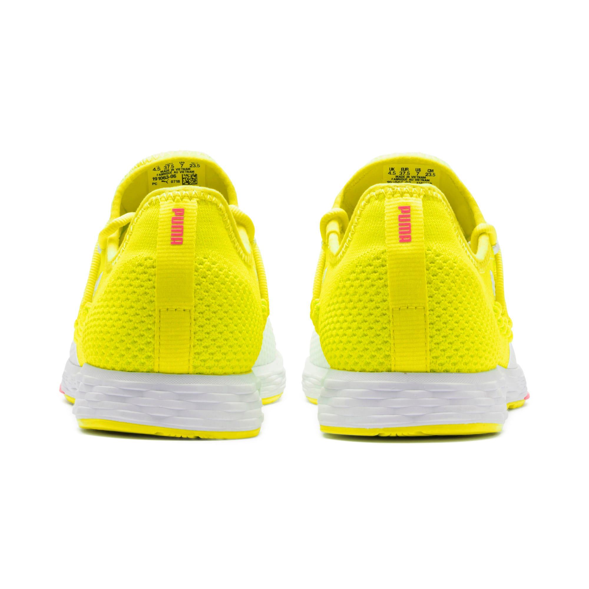 Thumbnail 5 of SPEED RACER Women's Running Shoes, Yellow-White-Pink Alert, medium-IND