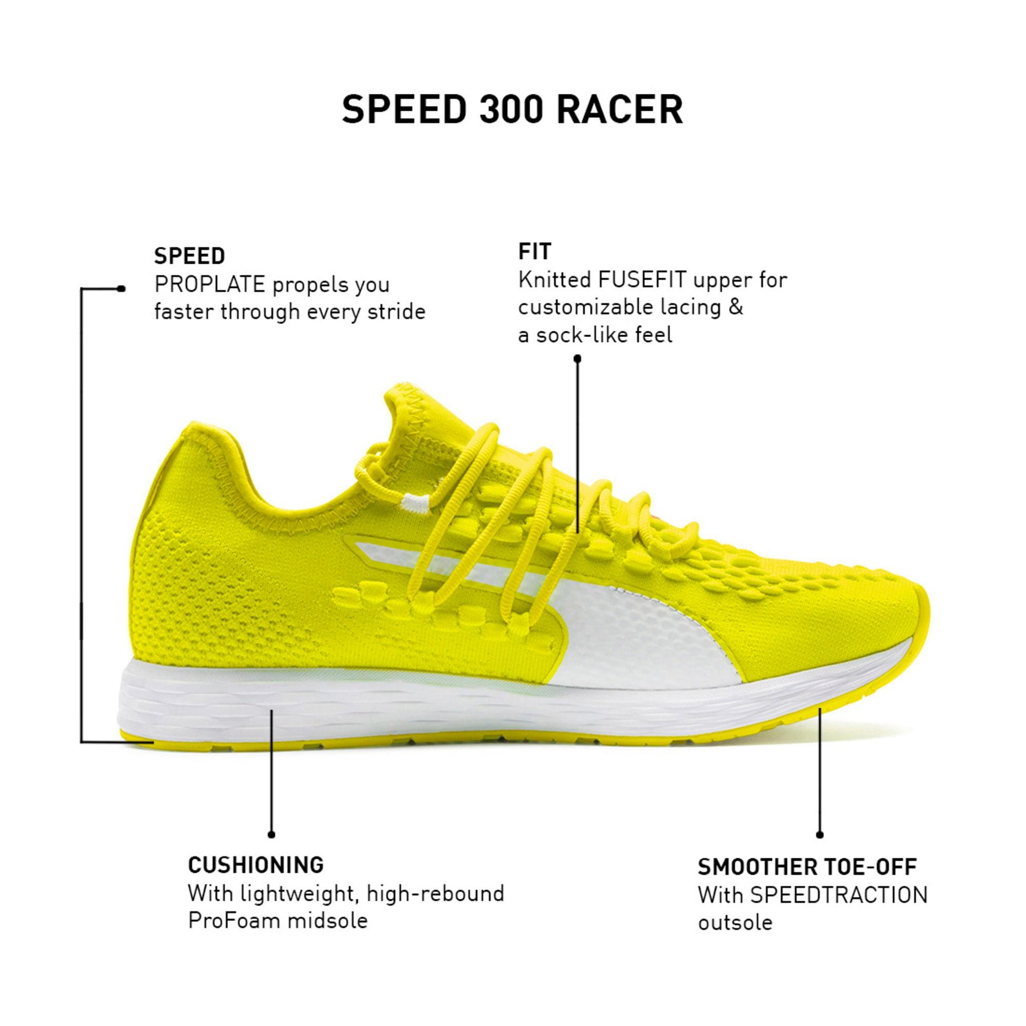 Thumbnail 9 of SPEED RACER Women's Running Shoes, Yellow-White-Pink Alert, medium-IND