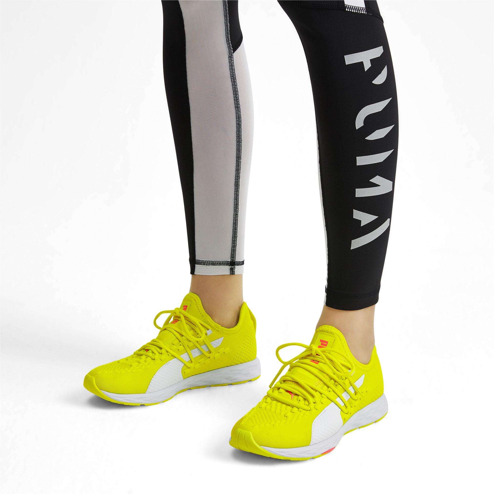 Thumbnail 2 of SPEED RACER Women's Running Shoes, Yellow-White-Pink Alert, medium-IND