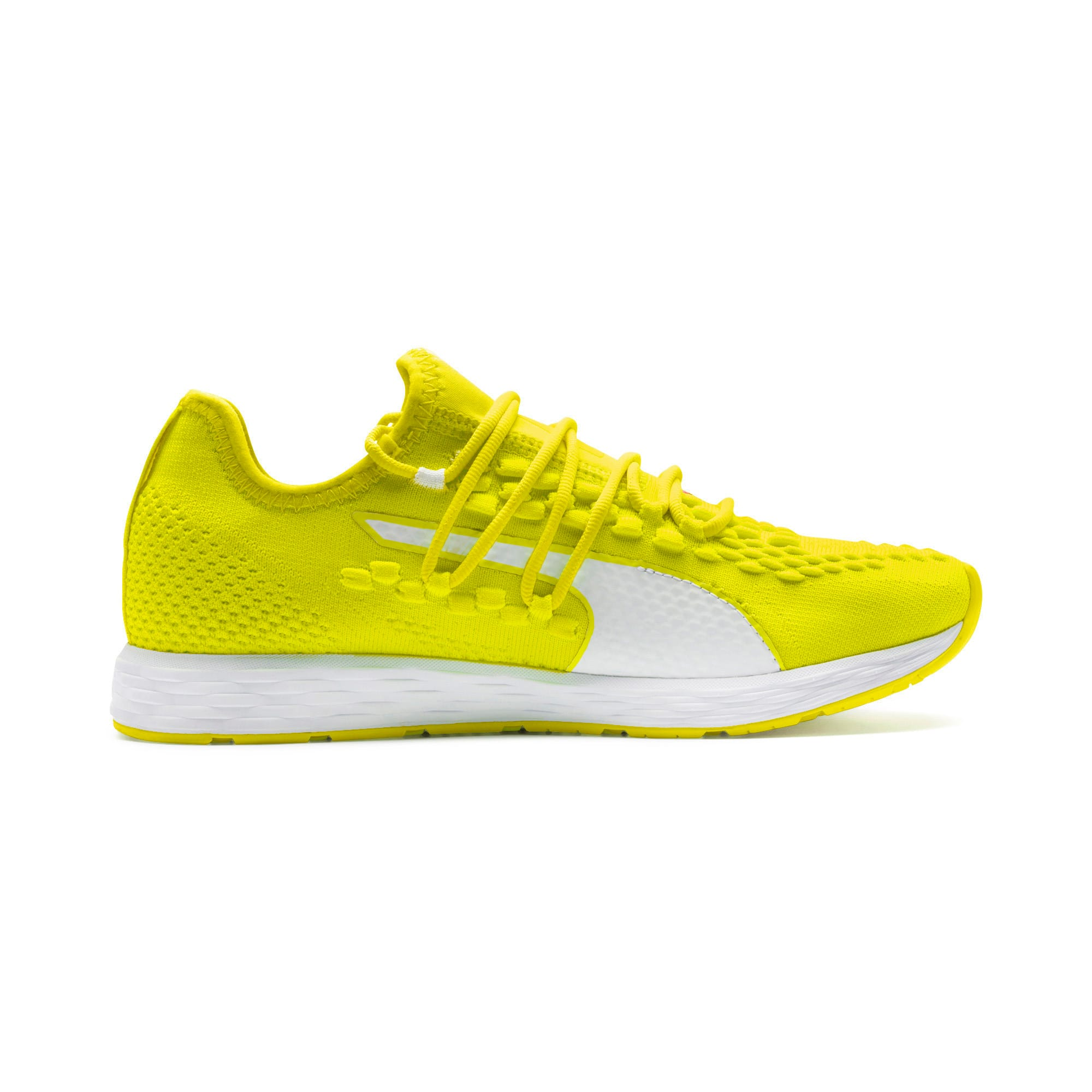 Thumbnail 7 of SPEED RACER Women's Running Shoes, Yellow-White-Pink Alert, medium-IND