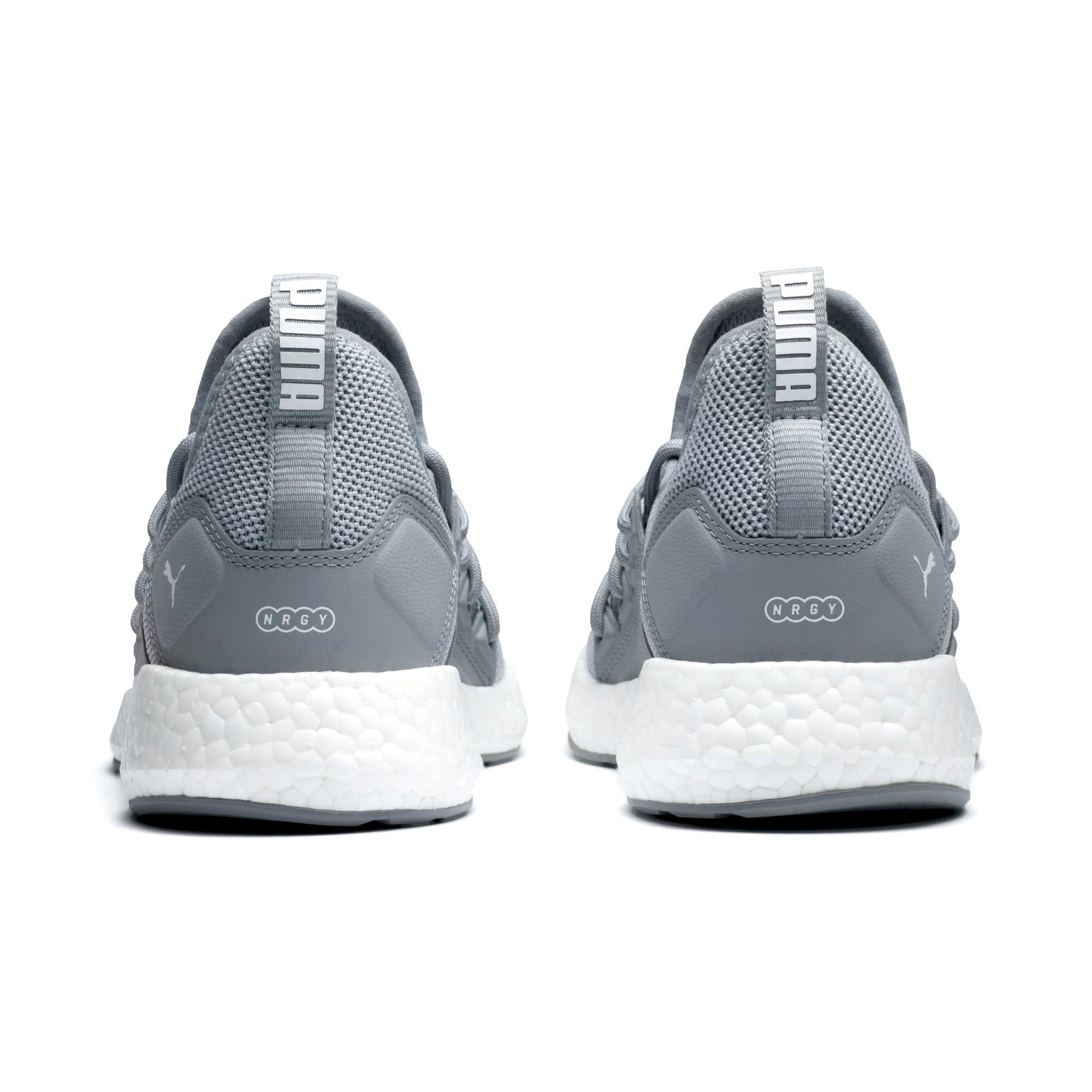 Thumbnail 4 of NRGY Neko Women's Running Shoes, Quarry-Puma White, medium