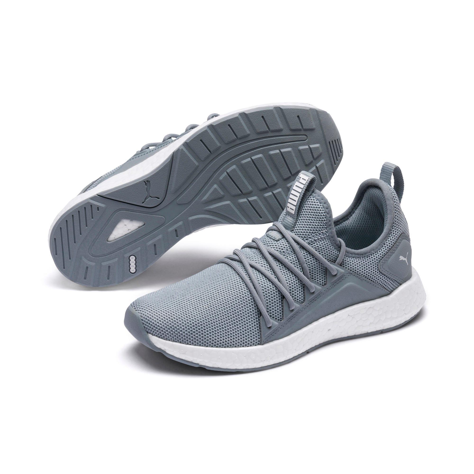Thumbnail 2 of NRGY Neko Women's Running Shoes, Quarry-Puma White, medium