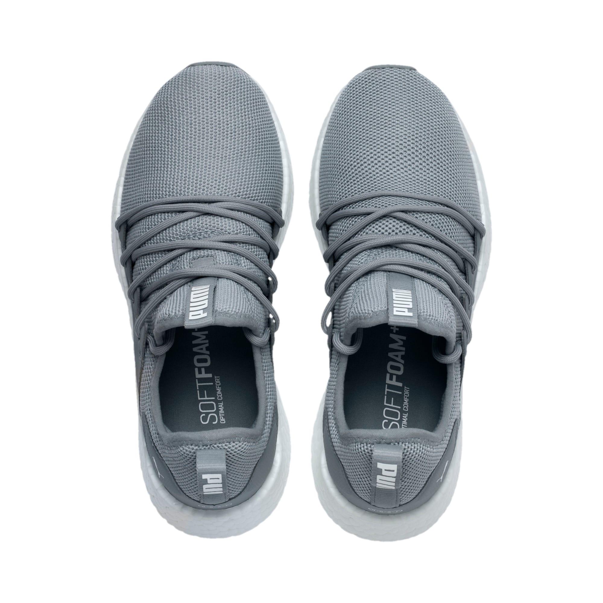 Thumbnail 6 of NRGY Neko Women's Running Shoes, Quarry-Puma White, medium