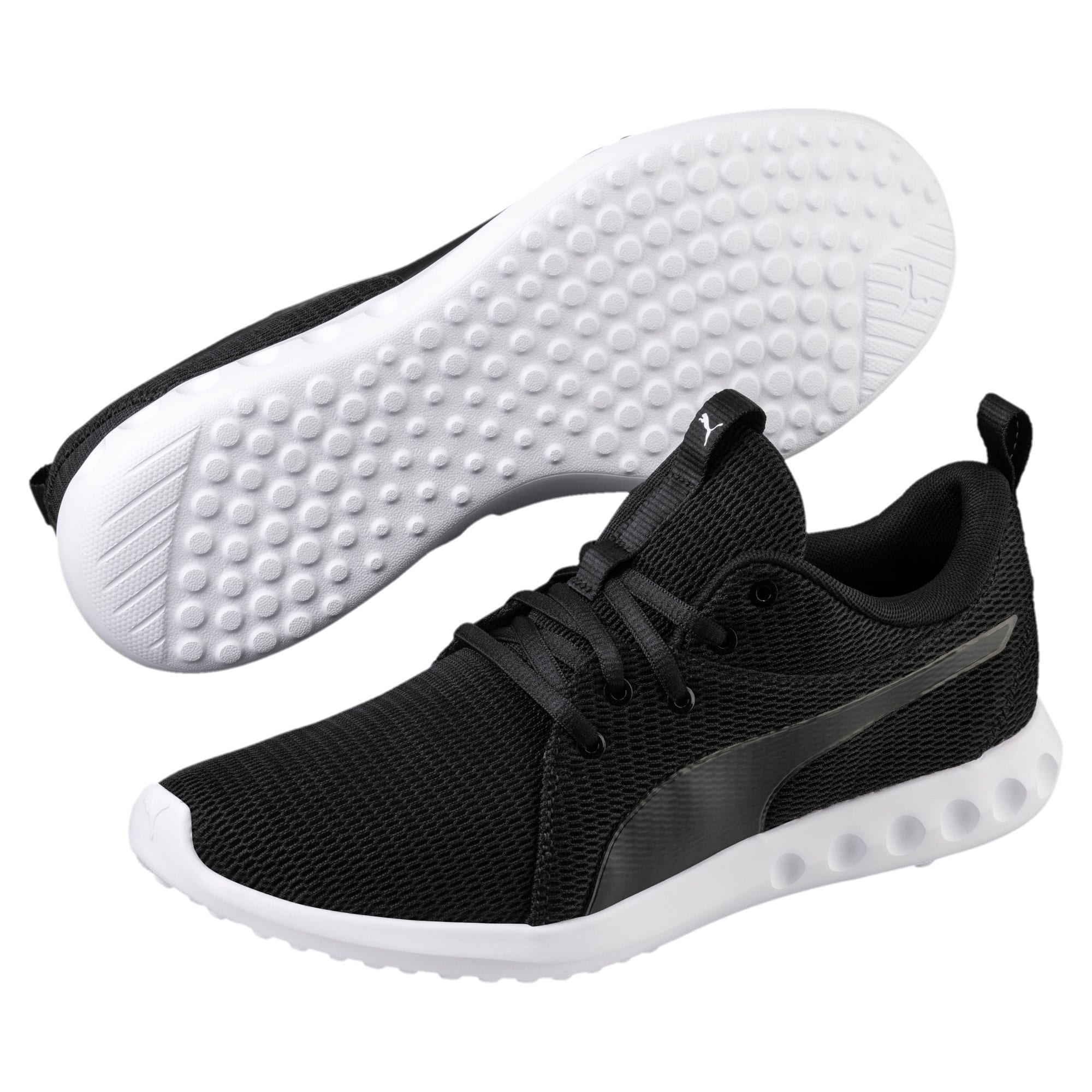 Thumbnail 2 of Carson 2 New Core Men's Running Shoes, Puma Black-Puma White, medium