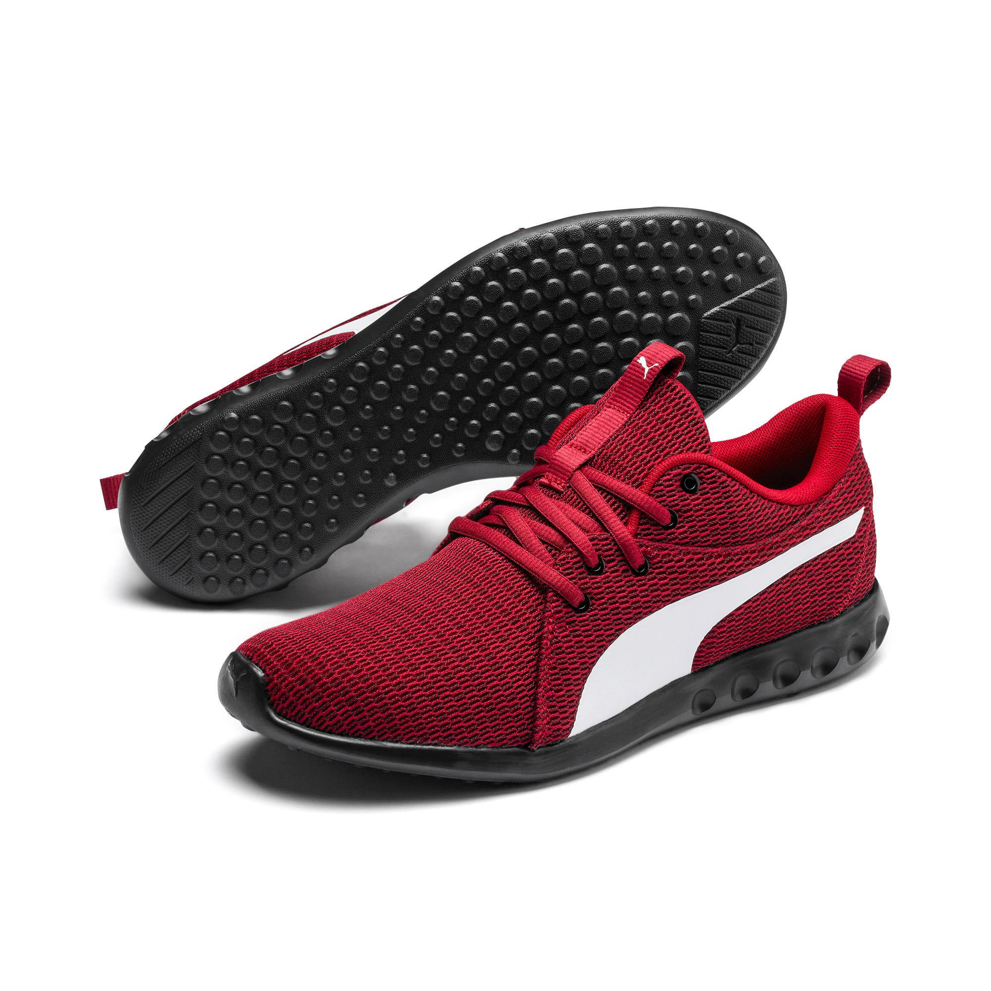 Thumbnail 2 of Carson 2 New Core Men's Running Shoes, Rhubarb-White-Black, medium