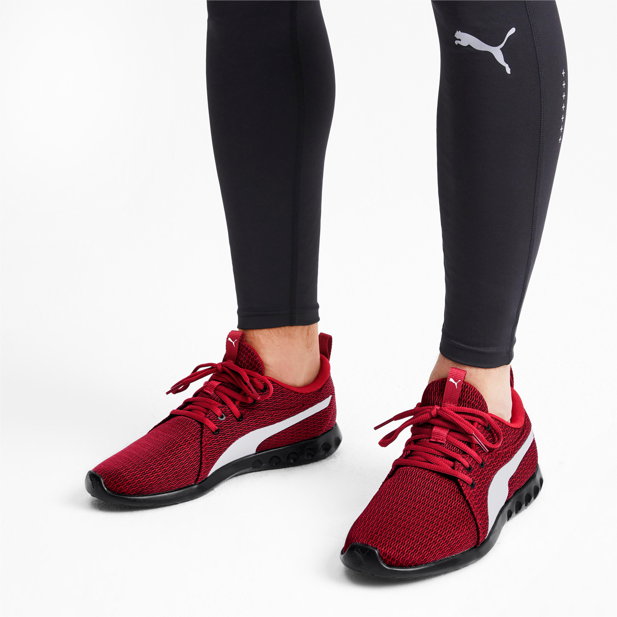 Thumbnail 3 of Carson 2 New Core Men's Running Shoes, Rhubarb-White-Black, medium