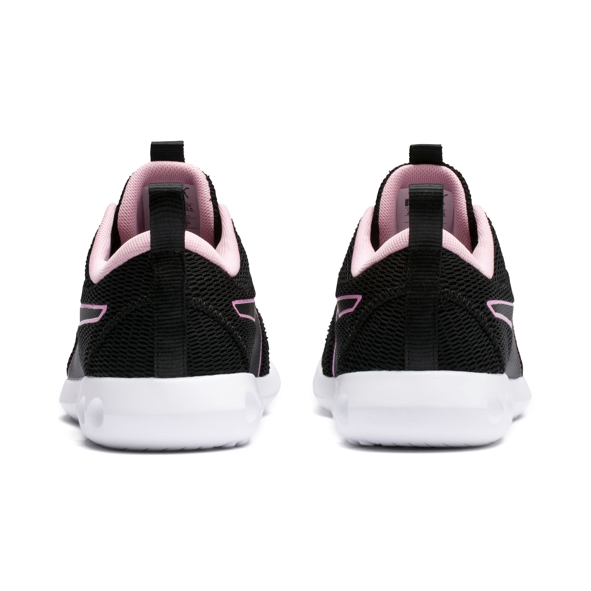 Thumbnail 3 of Carson 2 New Core Women's Trainers, Puma Black-Pale Pink, medium