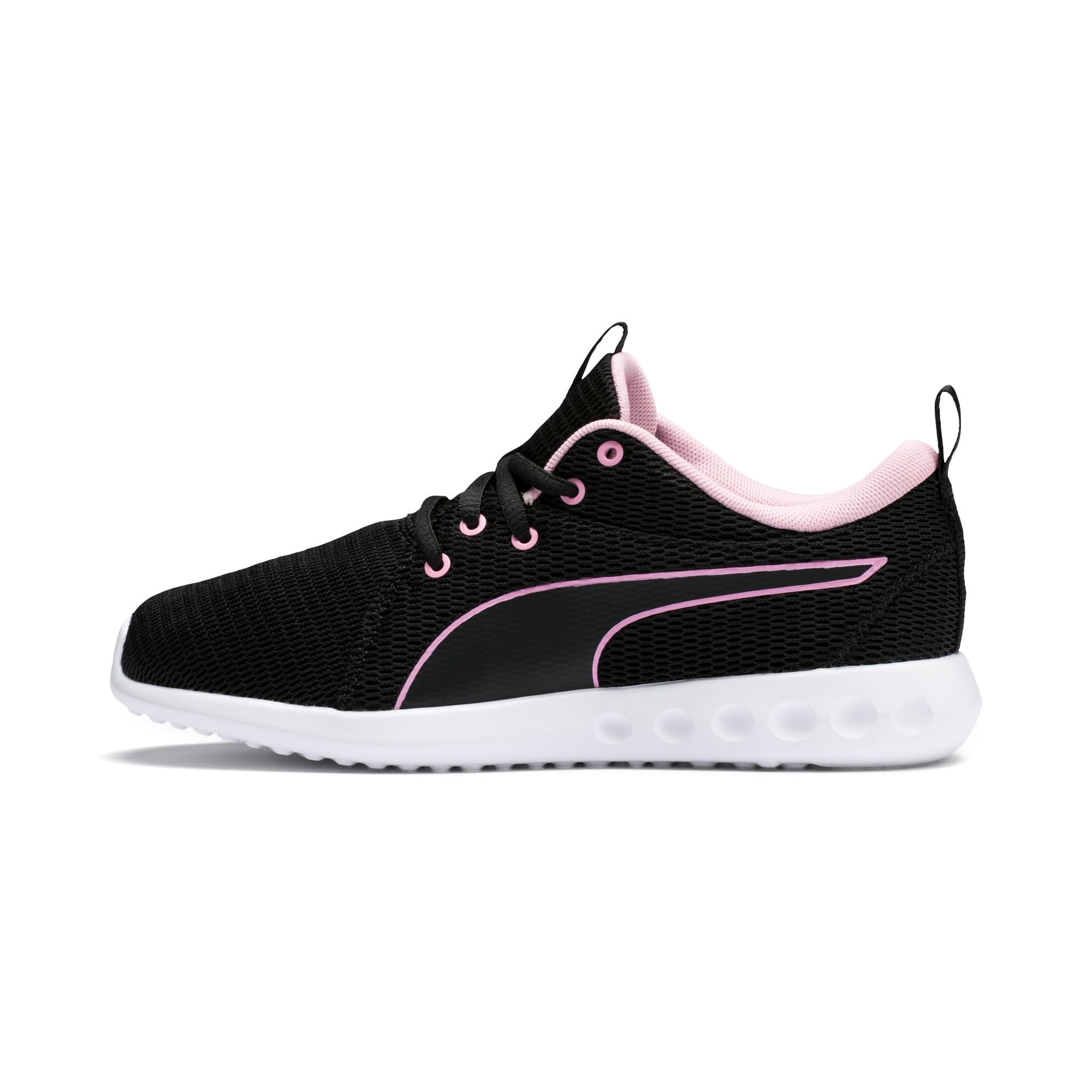 Thumbnail 1 of Carson 2 New Core Women's Trainers, Puma Black-Pale Pink, medium