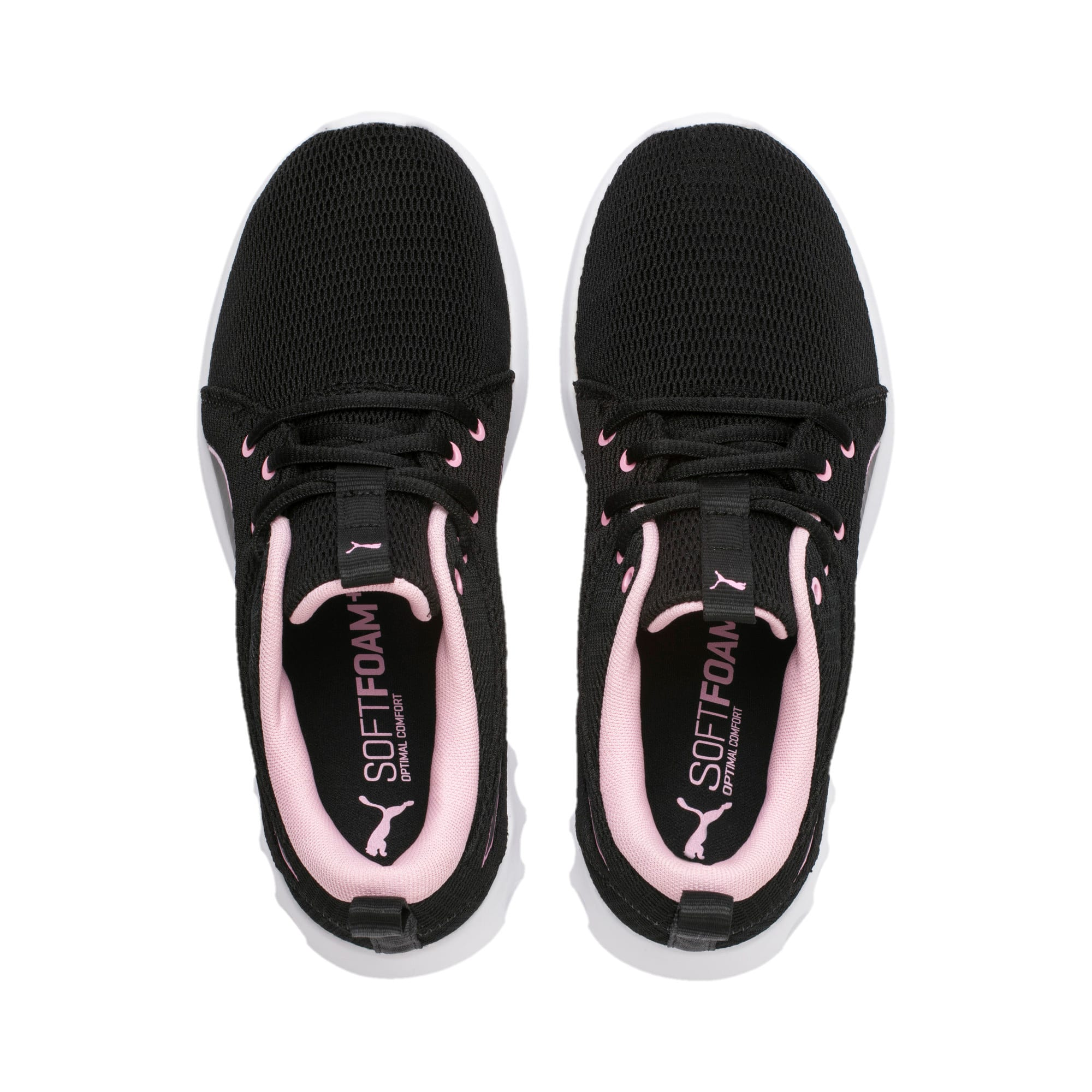 Thumbnail 6 of Carson 2 New Core Women's Trainers, Puma Black-Pale Pink, medium