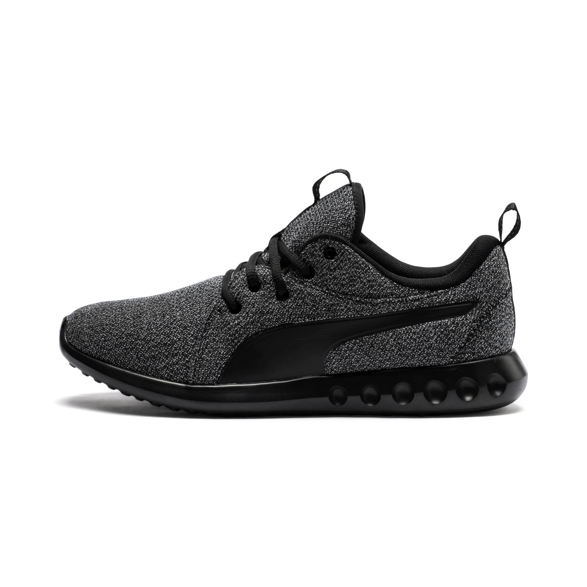 Thumbnail 1 of Carson 2 Knit Men's Training Shoes, Puma Black-Puma Black, medium