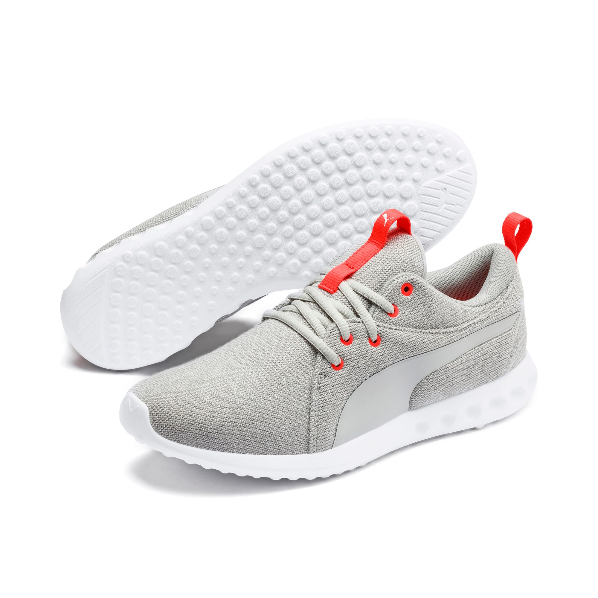 Thumbnail 2 of Carson 2 Knit Men's Training Shoes, High Rise-White-Nrgy Red, medium