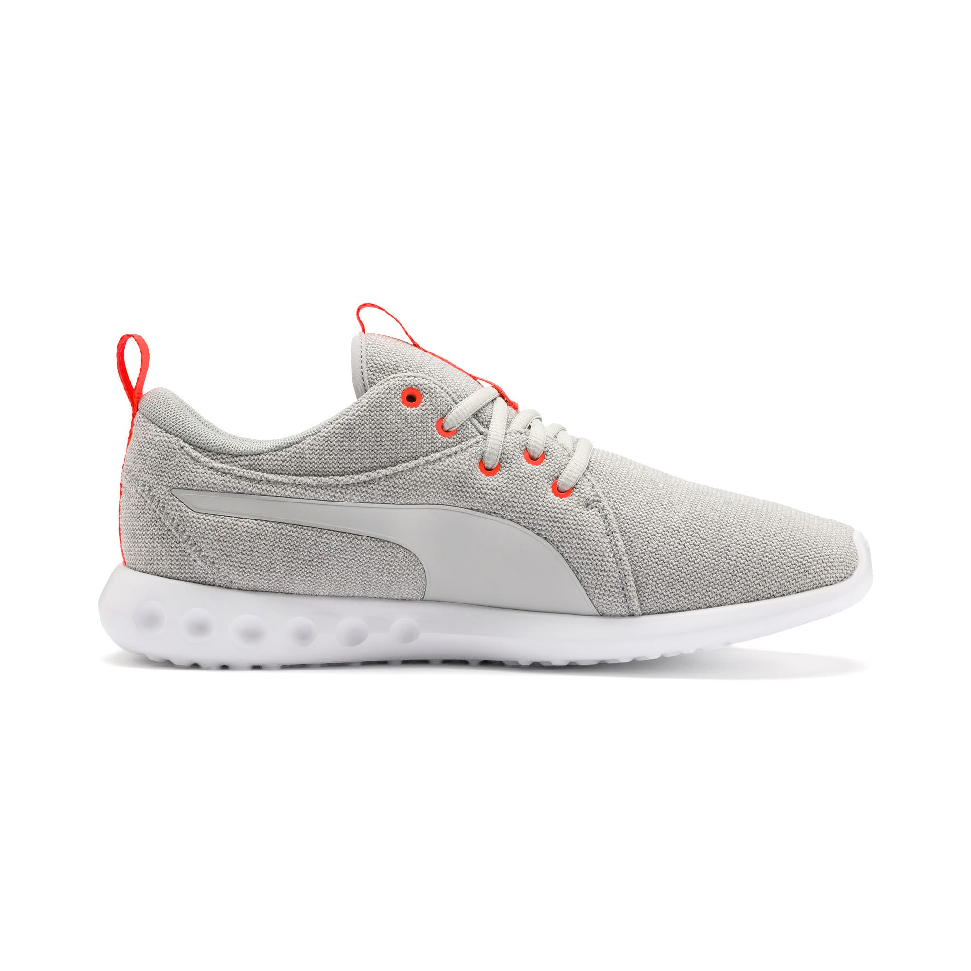 Thumbnail 6 of Carson 2 Knit Men's Training Shoes, High Rise-White-Nrgy Red, medium