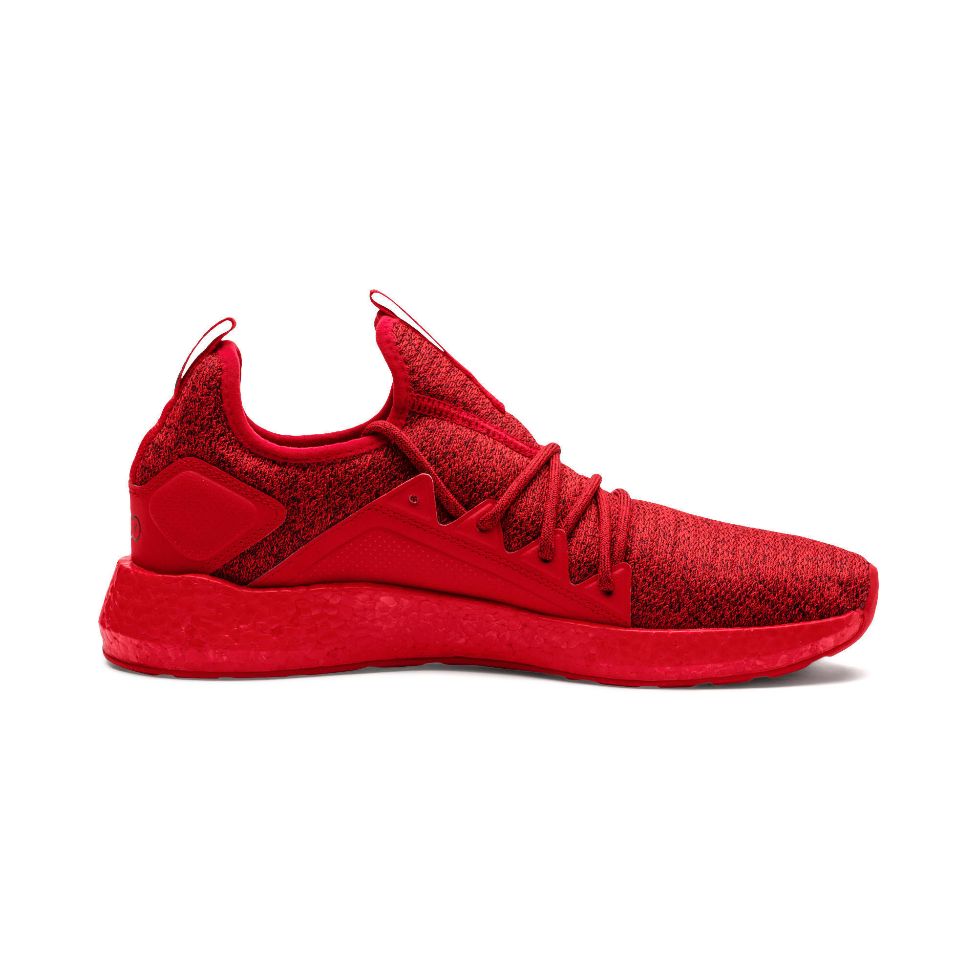 Thumbnail 5 of NRGY Neko Knit Men's Running Shoes, High Risk Red-Puma Black, medium