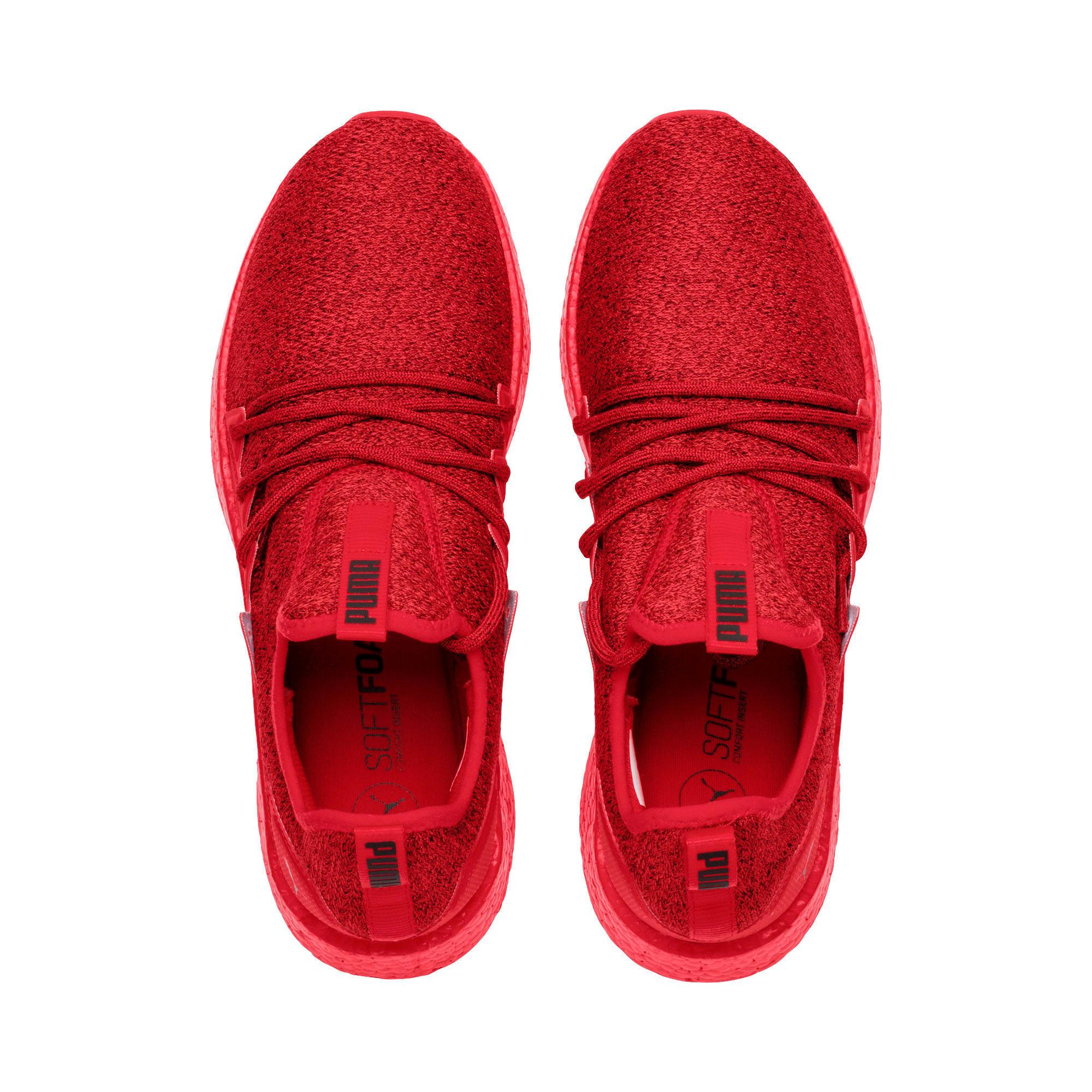 Thumbnail 6 of NRGY Neko Knit Men's Running Shoes, High Risk Red-Puma Black, medium