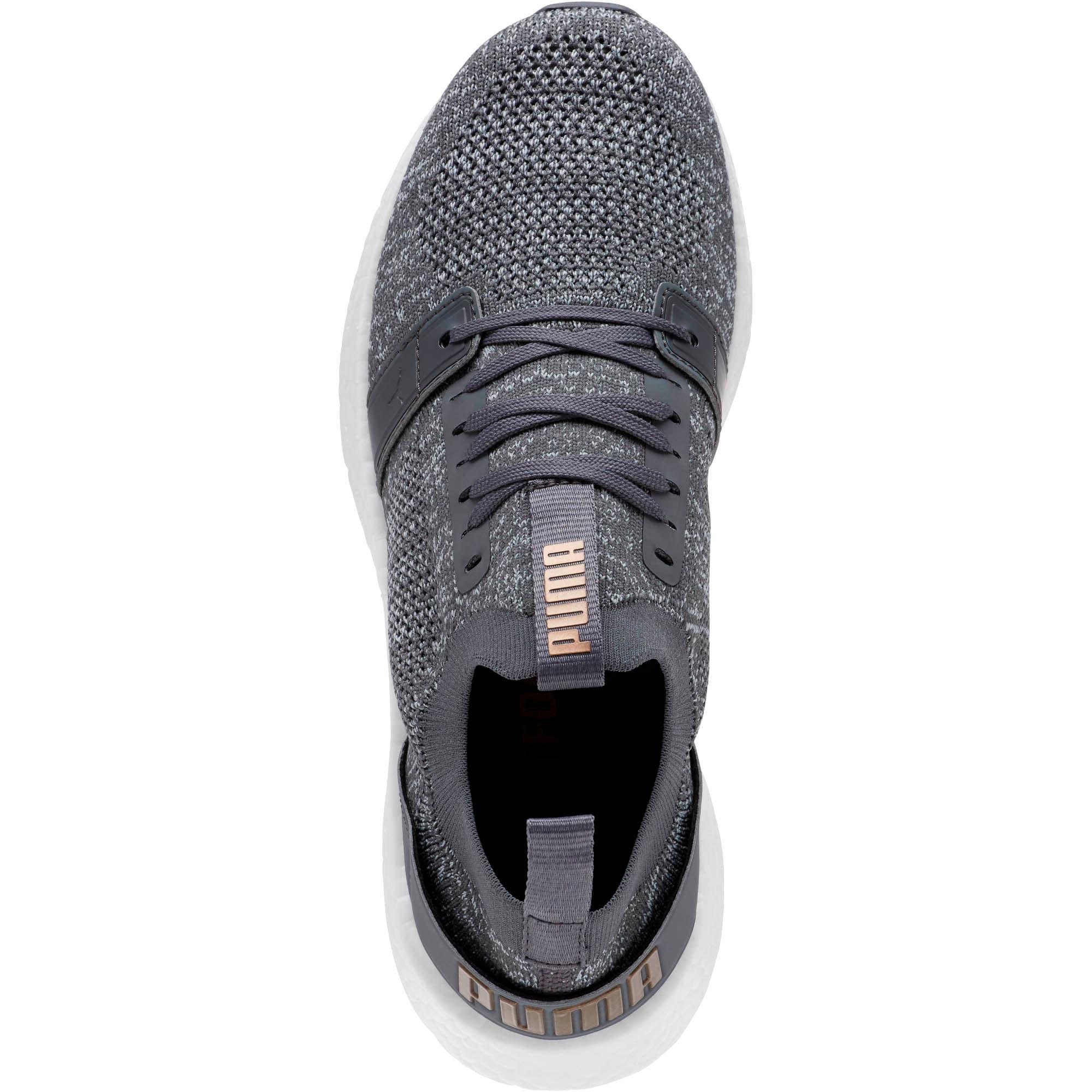 Thumbnail 5 of NRGY Neko Engineer Knit Women's Running Shoes, IronGate-Quarry-MtllicBrnze, medium