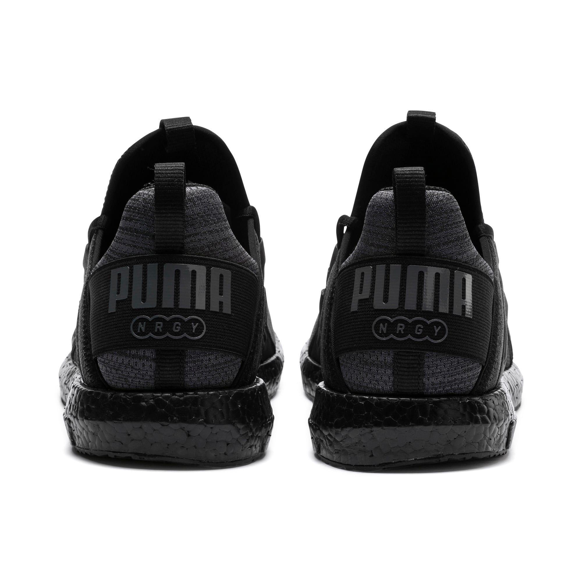 Thumbnail 4 of Mega NRGY Heather Knit Men's Running Shoes, Iron Gate-Puma Black, medium