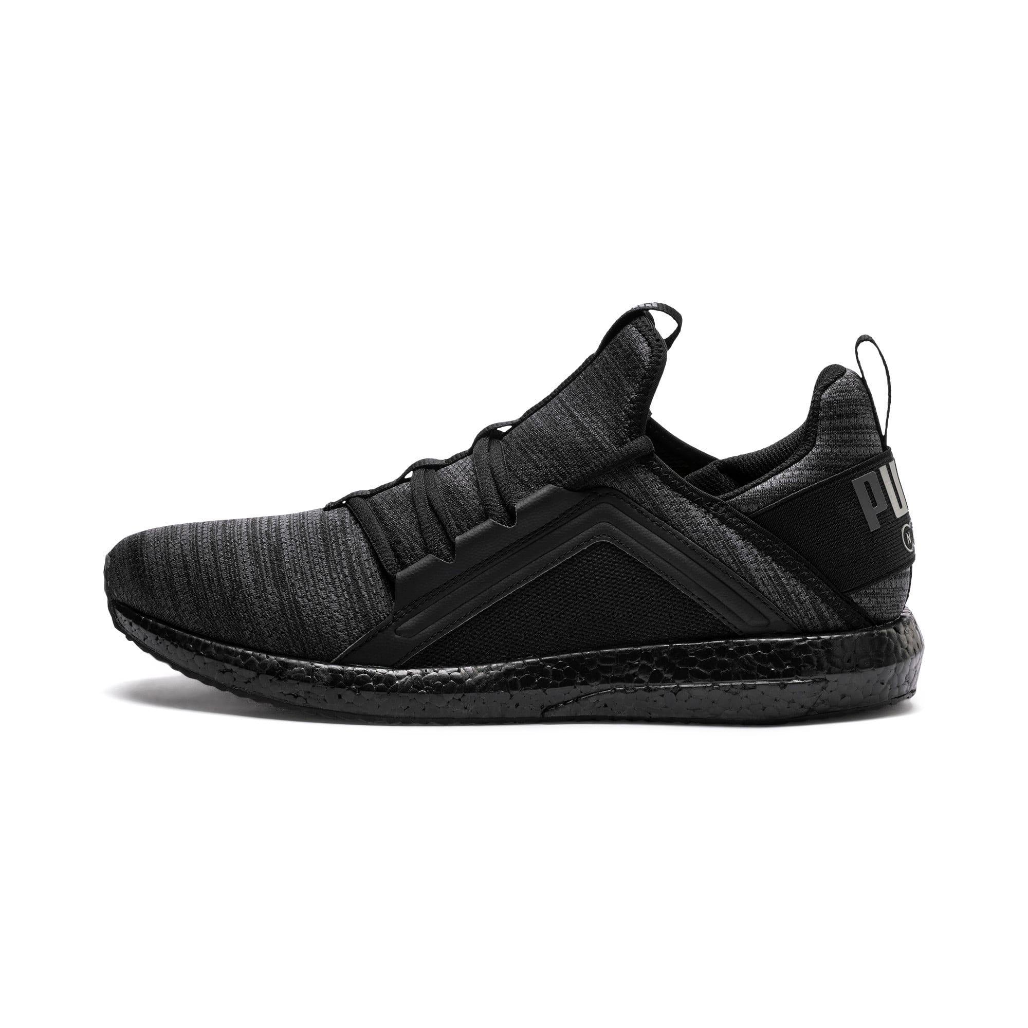 Thumbnail 1 of Mega NRGY Heather Knit Men's Running Shoes, Iron Gate-Puma Black, medium