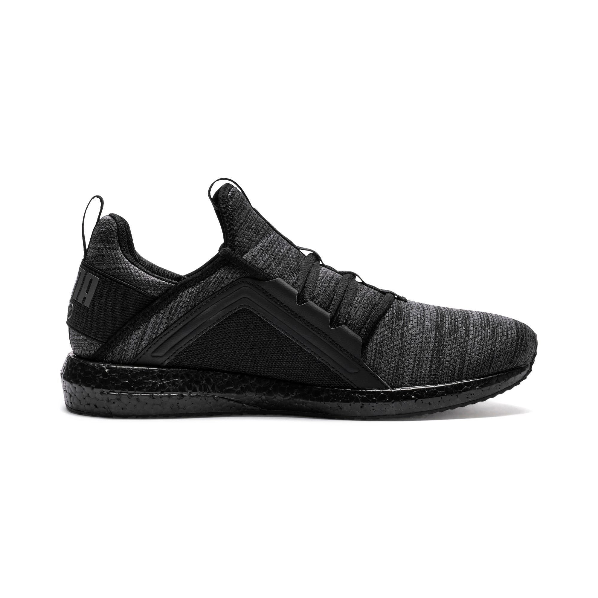 Thumbnail 5 of Mega NRGY Heather Knit Men's Running Shoes, Iron Gate-Puma Black, medium