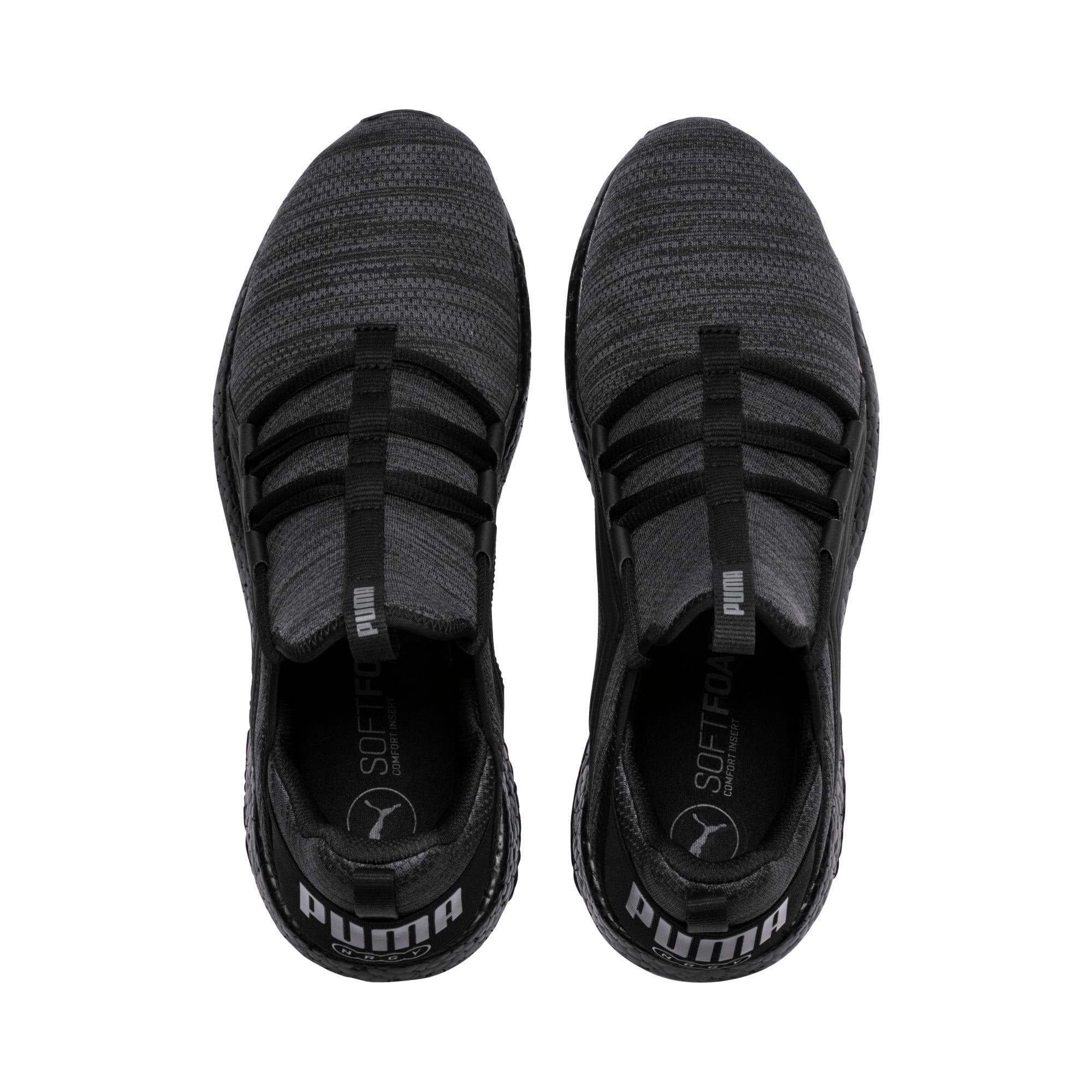 Thumbnail 6 of Mega NRGY Heather Knit Men's Running Shoes, Iron Gate-Puma Black, medium