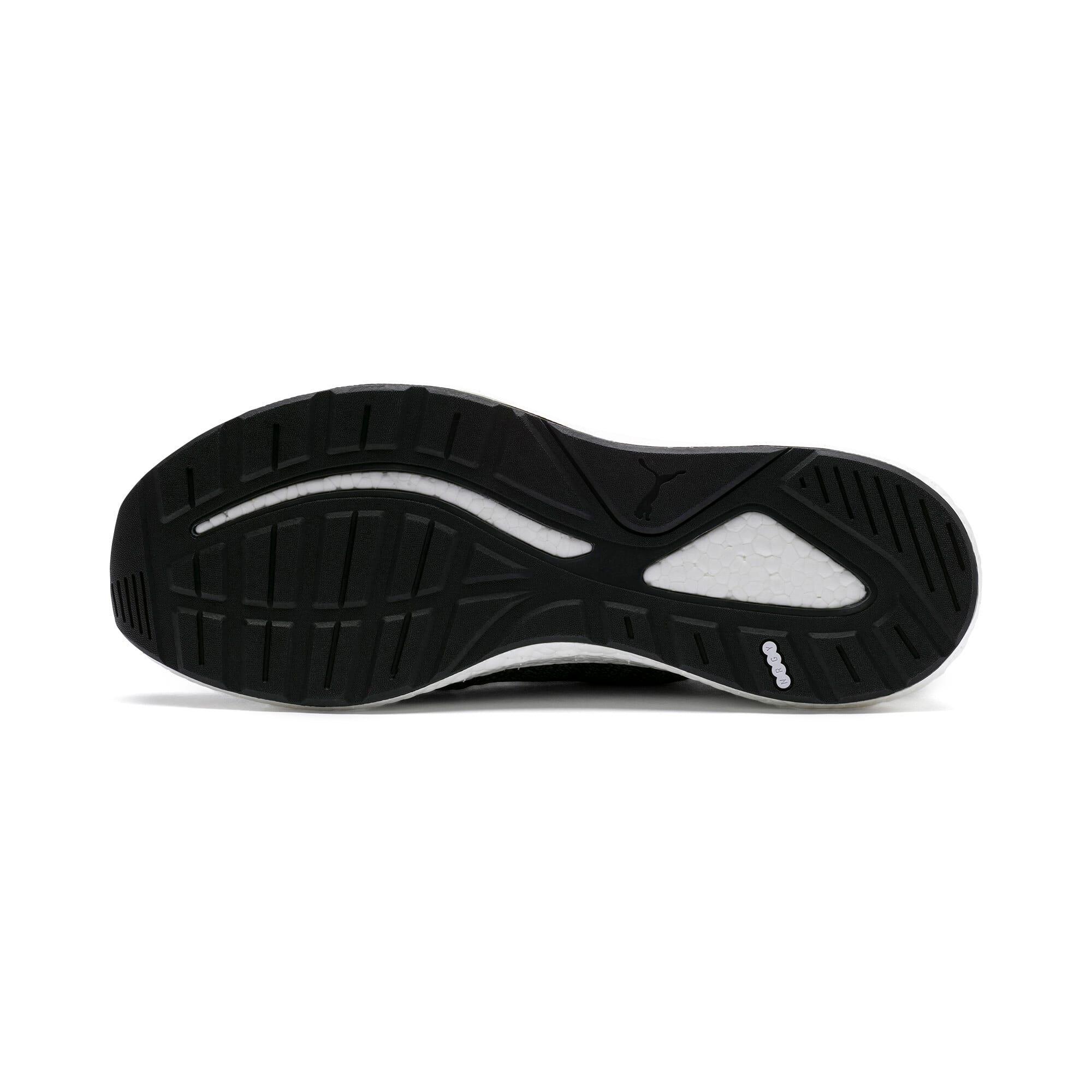 Thumbnail 3 of NRGY Neko Engineer Knit Men's Running Shoes, Puma Black-Iron Gate, medium