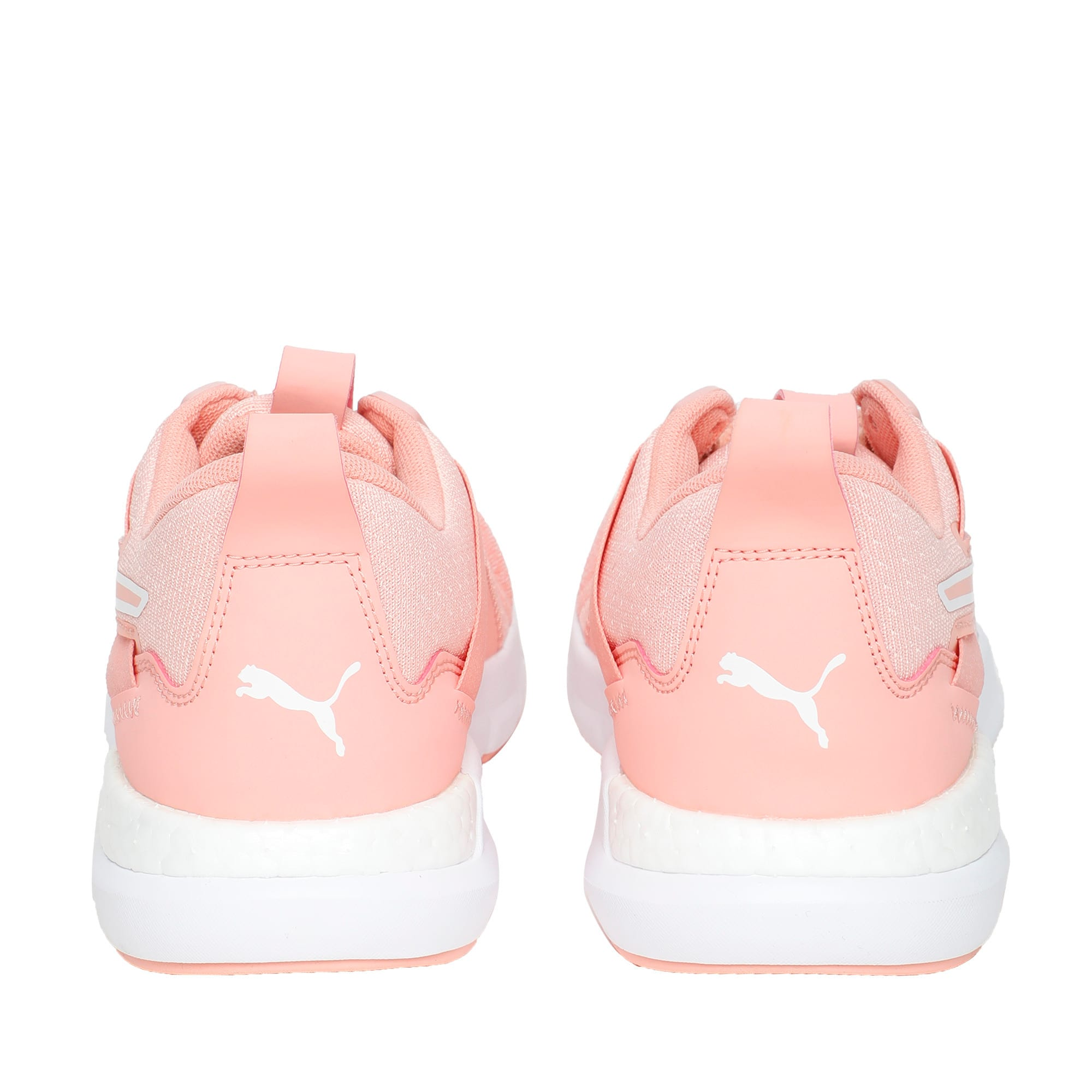 Thumbnail 4 of NRGY Dynamo Futuro Wns Puma Black-Puma W, Peach Bud-Puma White, medium-IND