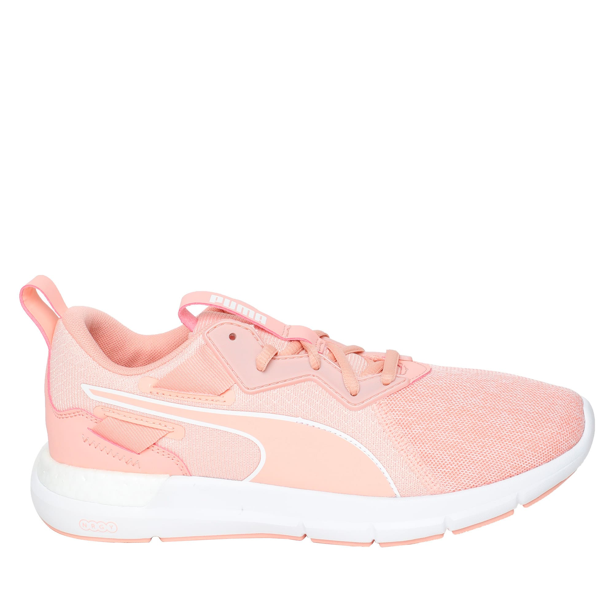 Thumbnail 5 of NRGY Dynamo Futuro Wns Puma Black-Puma W, Peach Bud-Puma White, medium-IND